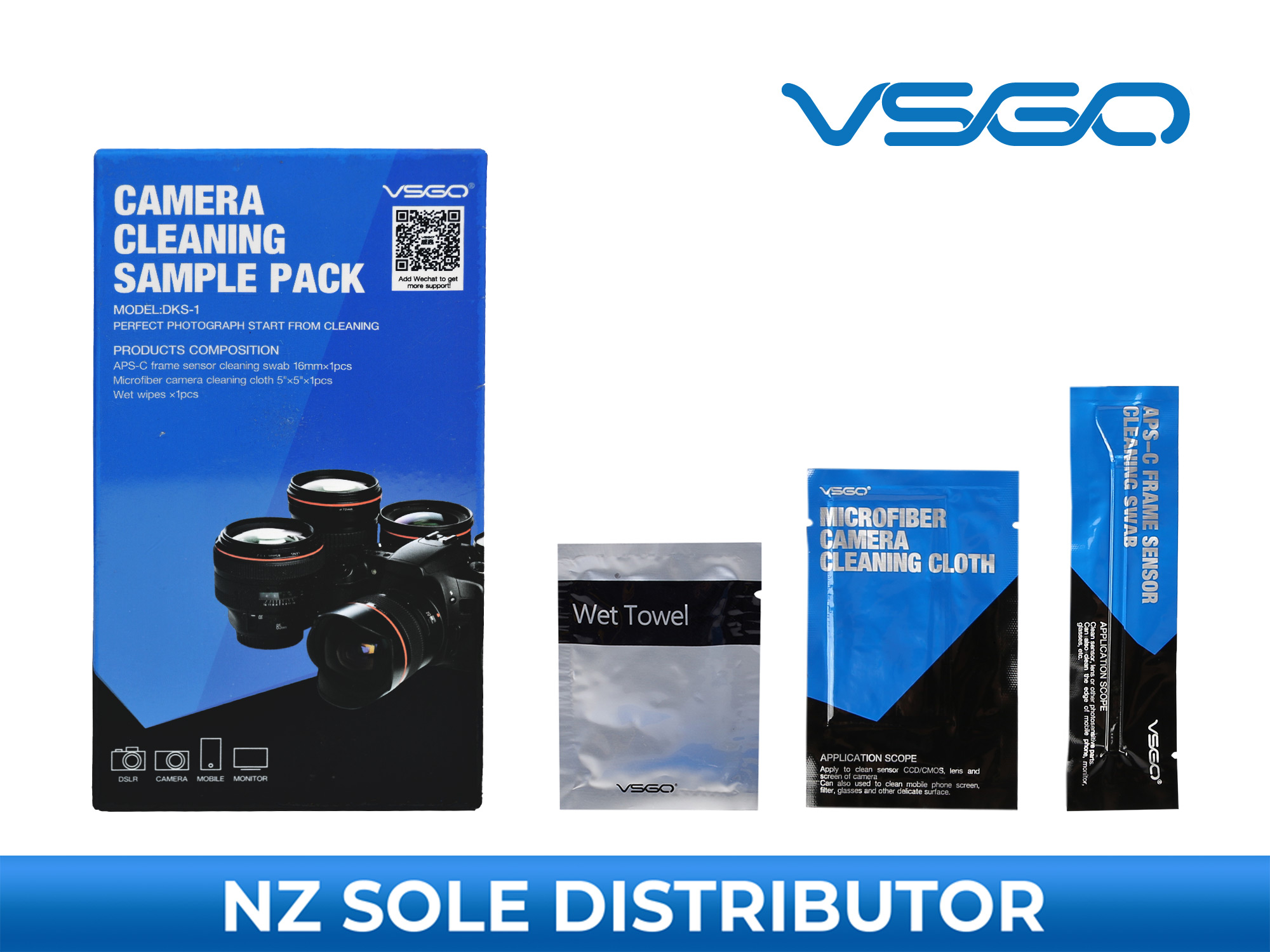 Camera Cleaning Sample Pack - VSGO