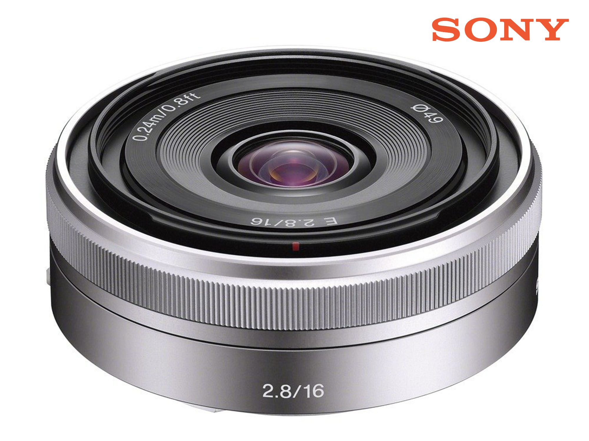 Sony Alpha 16mm F2.8 Wide Interchangeable E Mount Lens