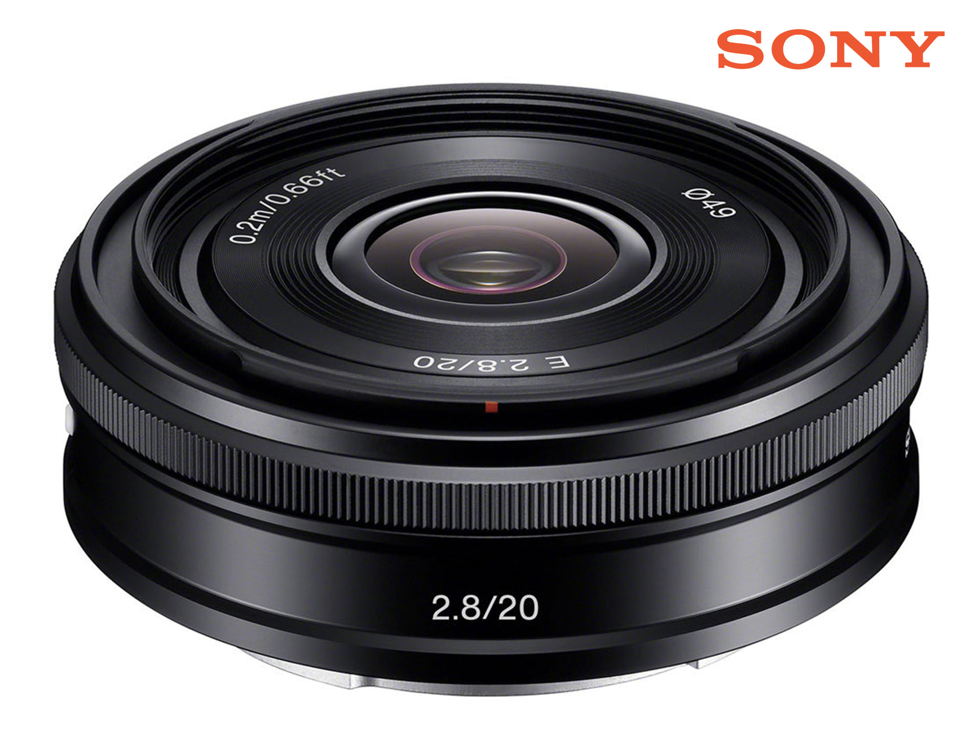 Sony Alpha E 20mm F2.8 E Mount Lens