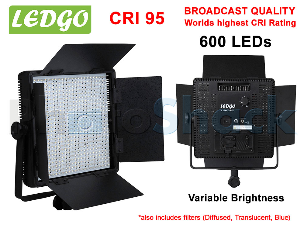 LEDGo 600 LED Studio Light - 600SC