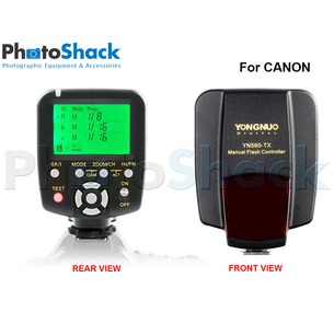 Manual Flash Controller YN560-TX for Nikon or Canon - YN560-TX N