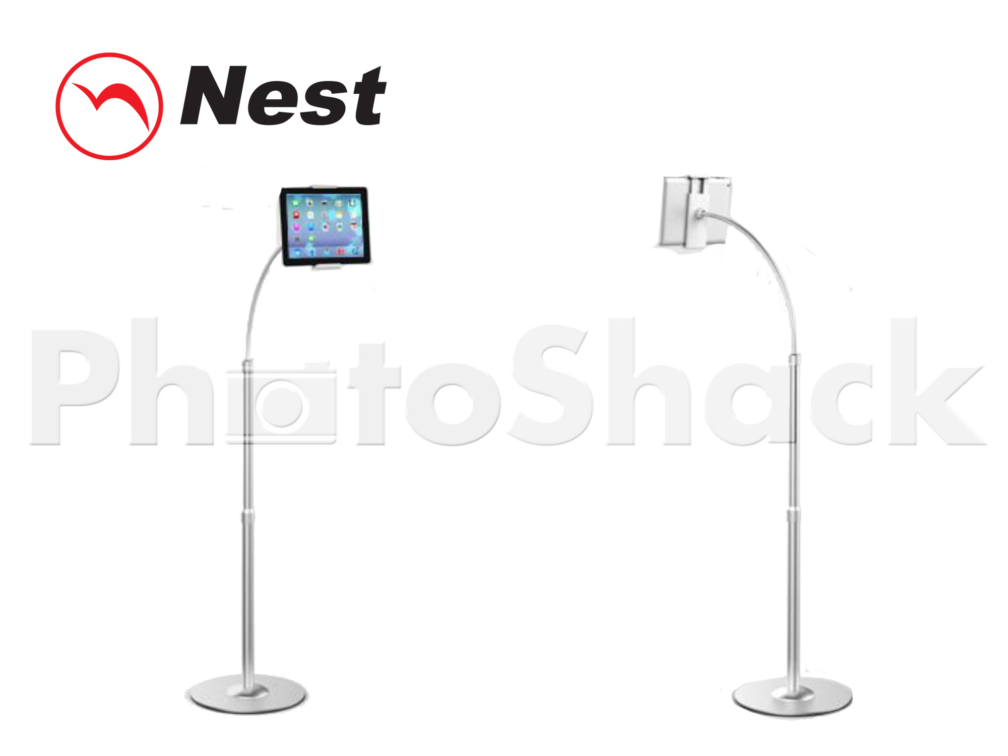 Phone & Tablet Floor Stand S - SILVER