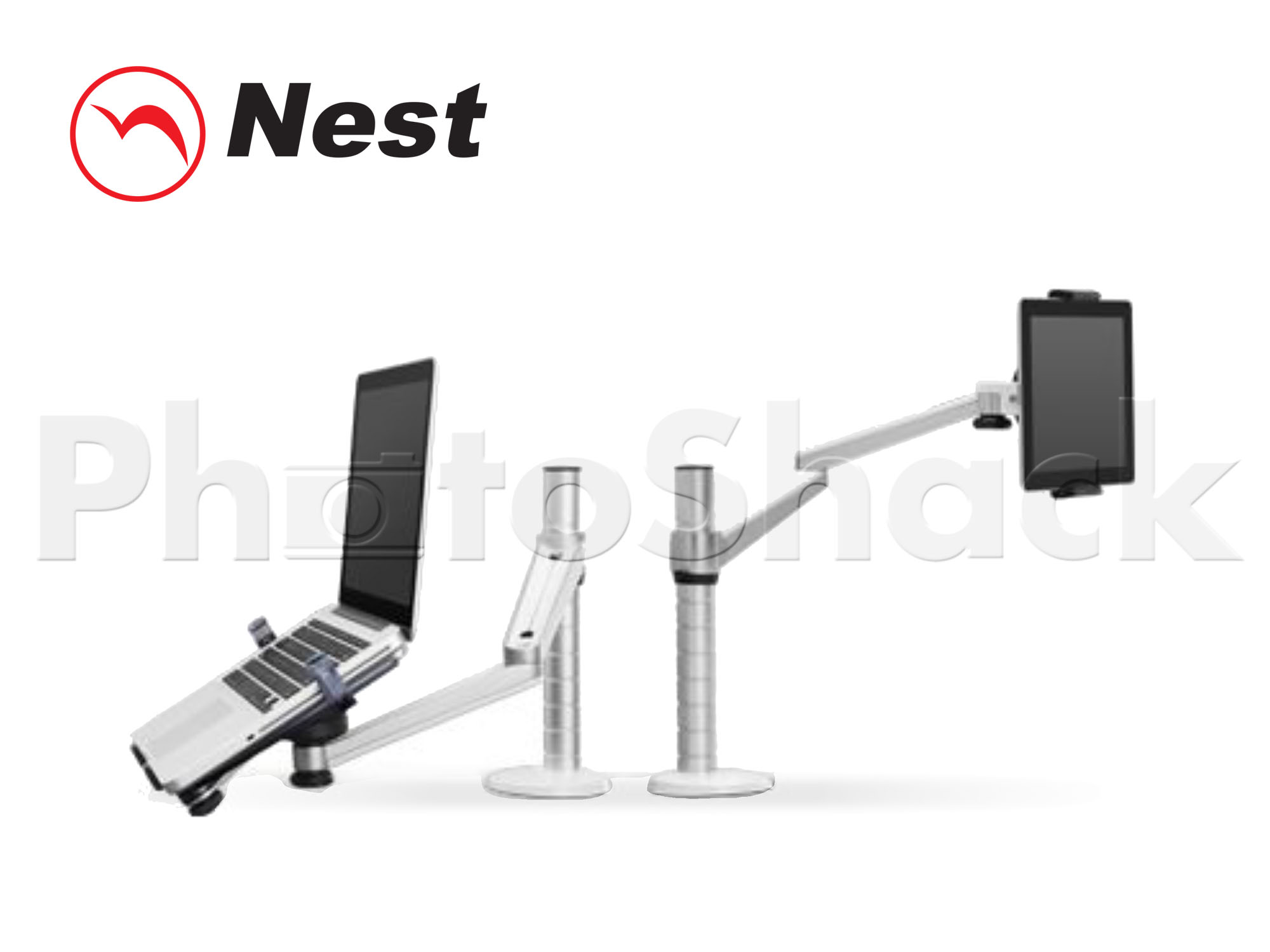 Desktop Mount for Tablet / iPad NTDM1S - Silver