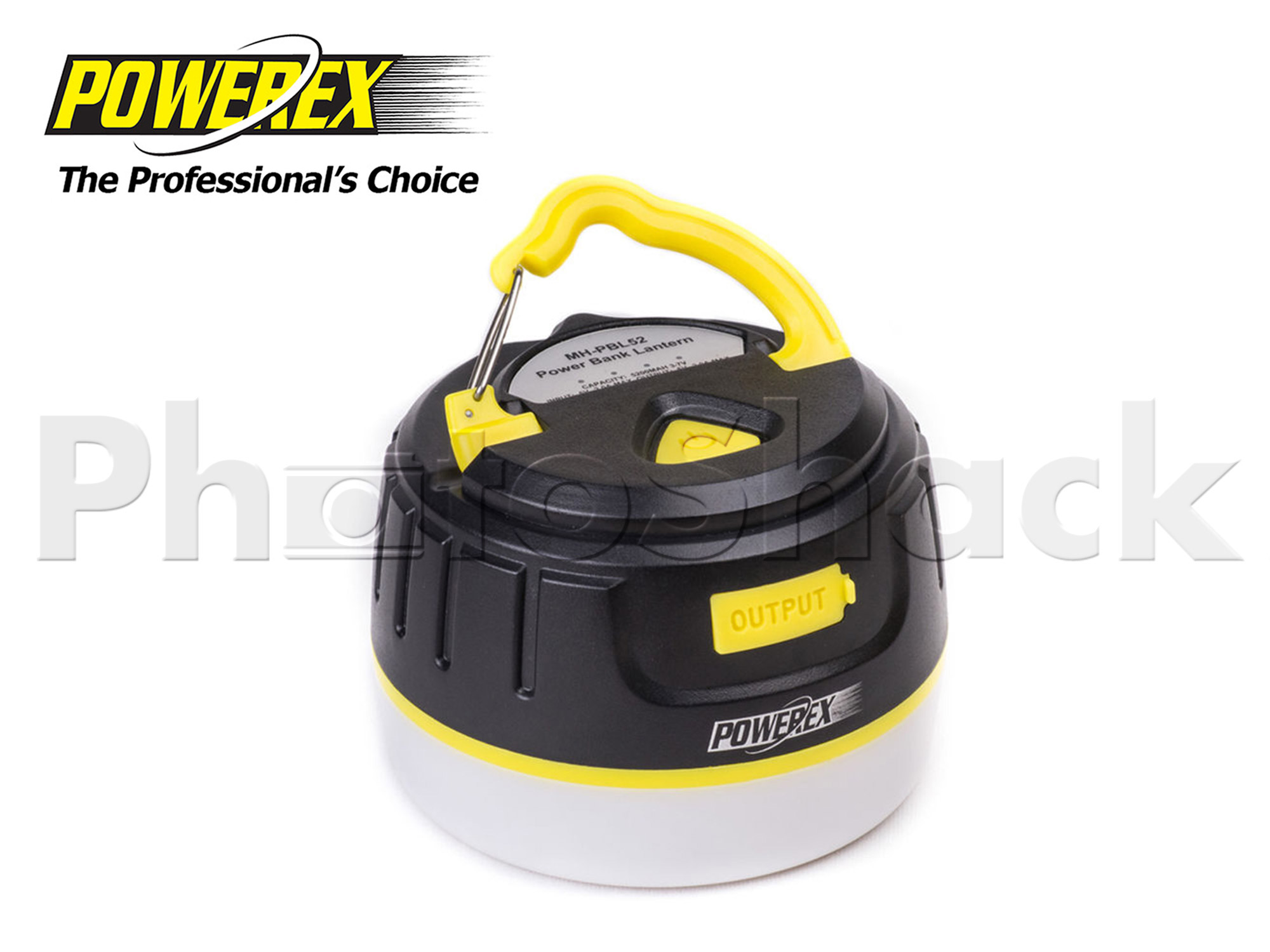 Powerex Rechargeable Power Bank LED Lantern