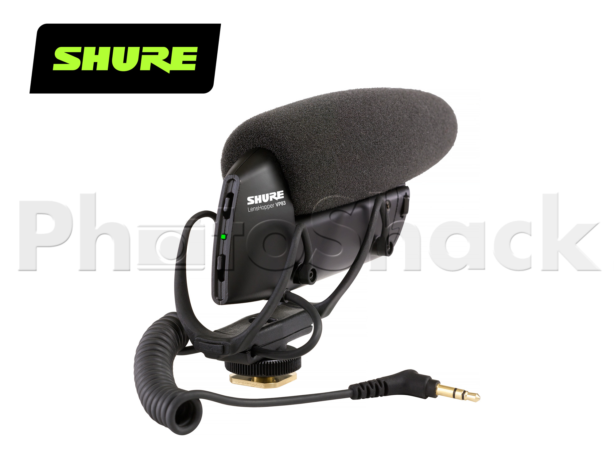 Shure VP83 Camera-Mount Condenser Microphone