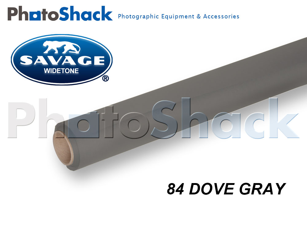 SAVAGE Paper Background Roll - 84 Dove Gray