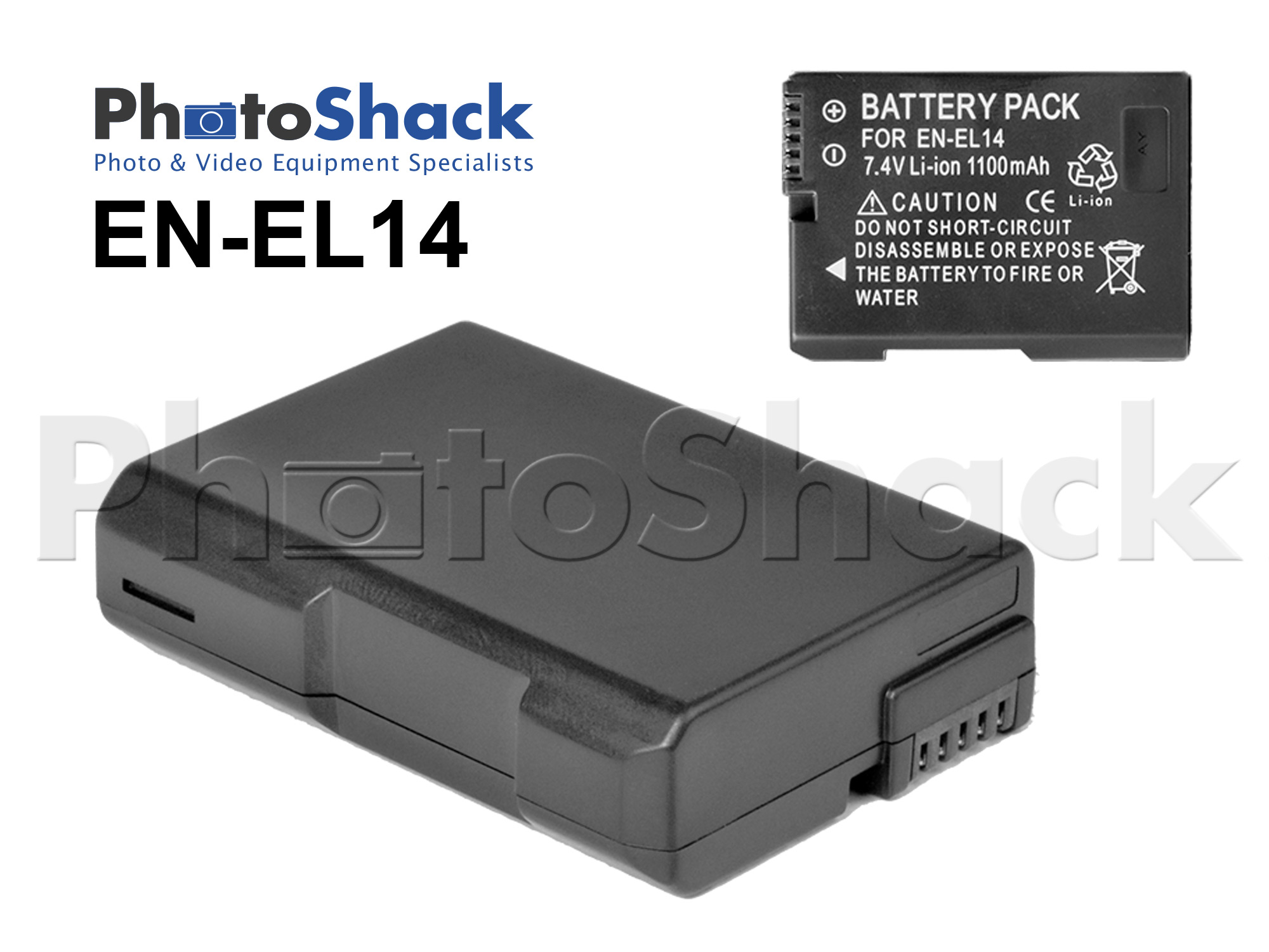 ENEL14 Rechargeable Battery for Nikon Cameras