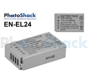 EN-EL24 Battery for Nikon 1 J5 Mirrorless Digital Camera