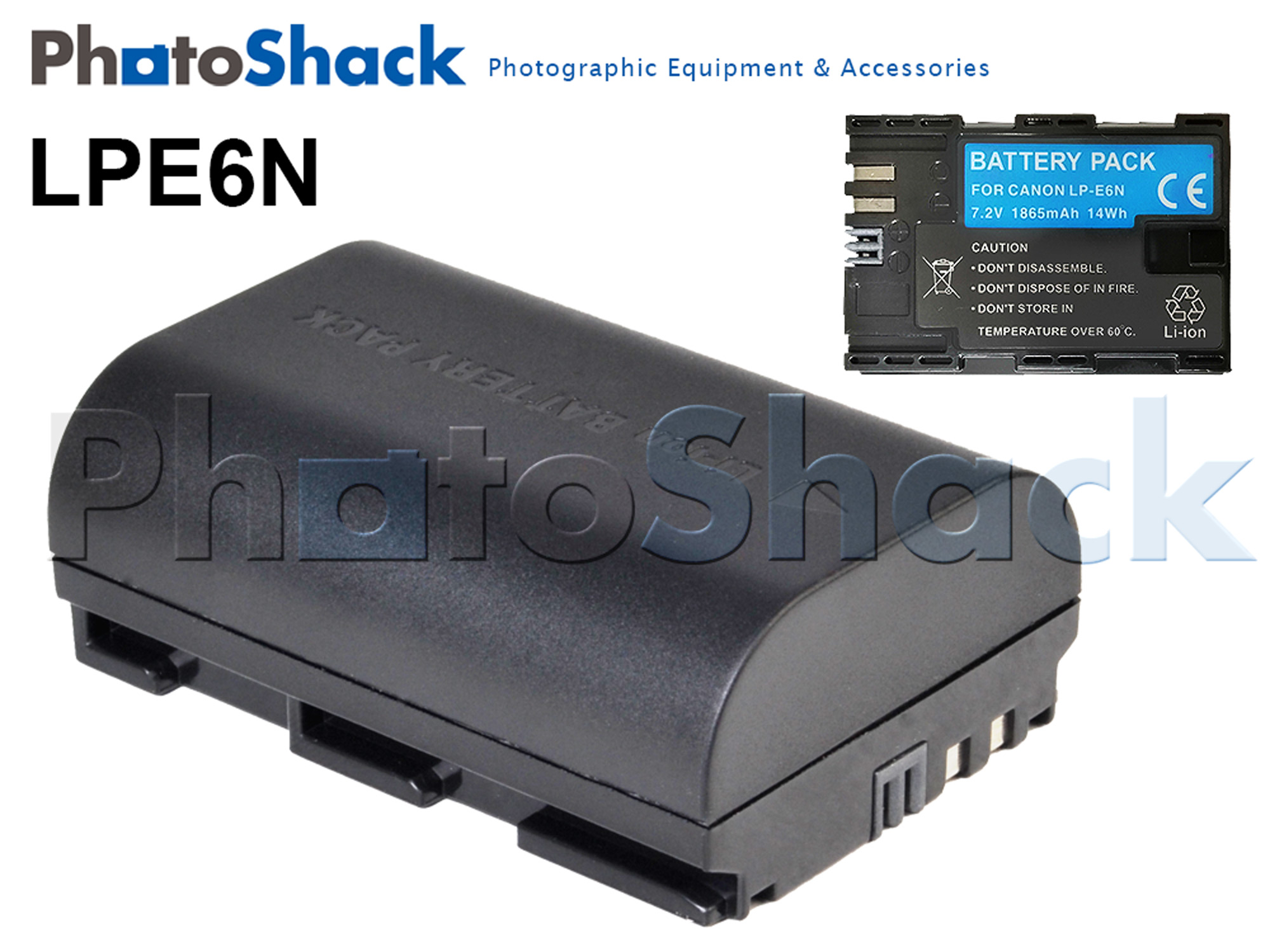 LP-E6N Camera Battery for Canon