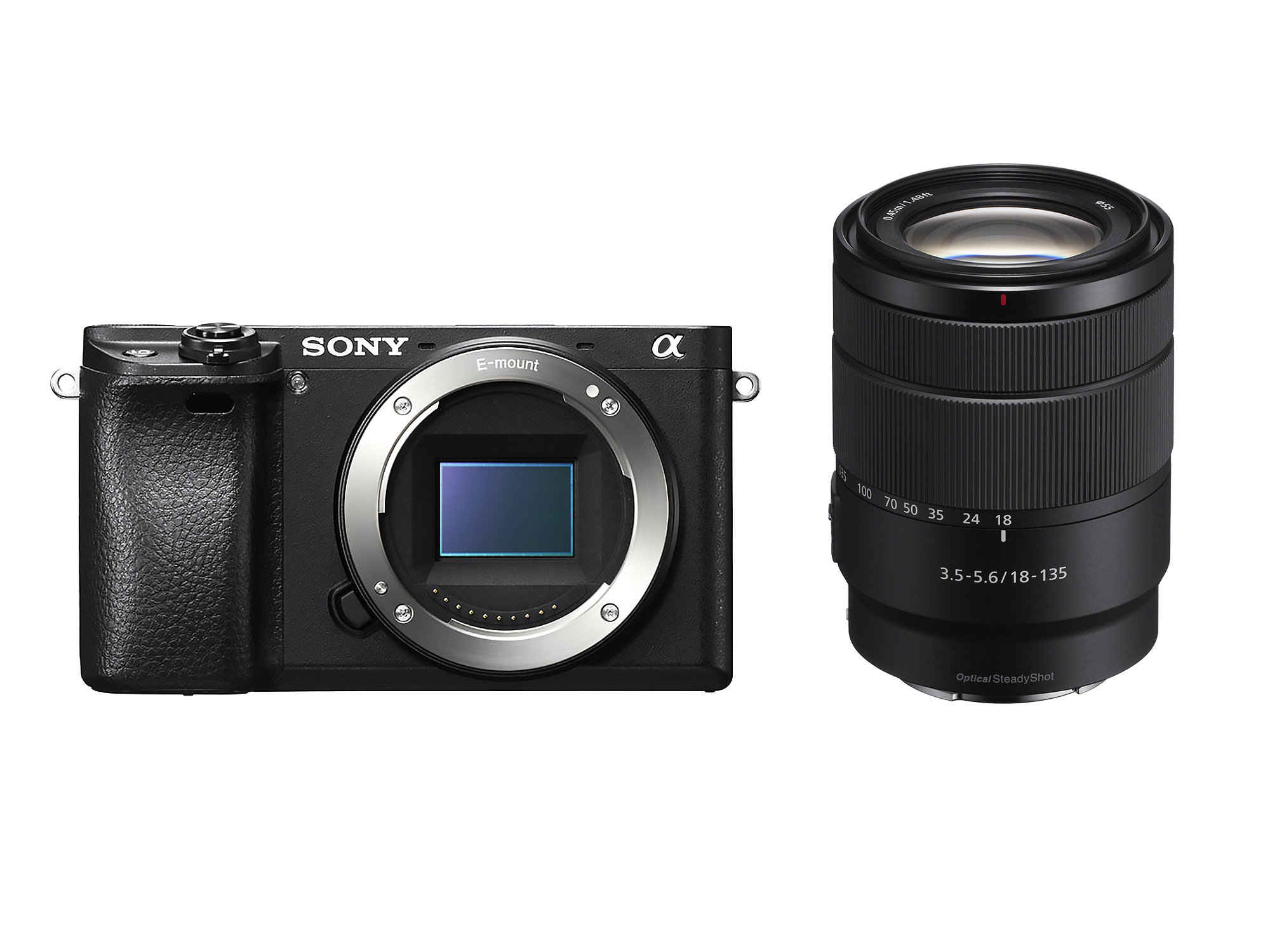 Sony Alpha a6300 + 18-135mm Lens Kit