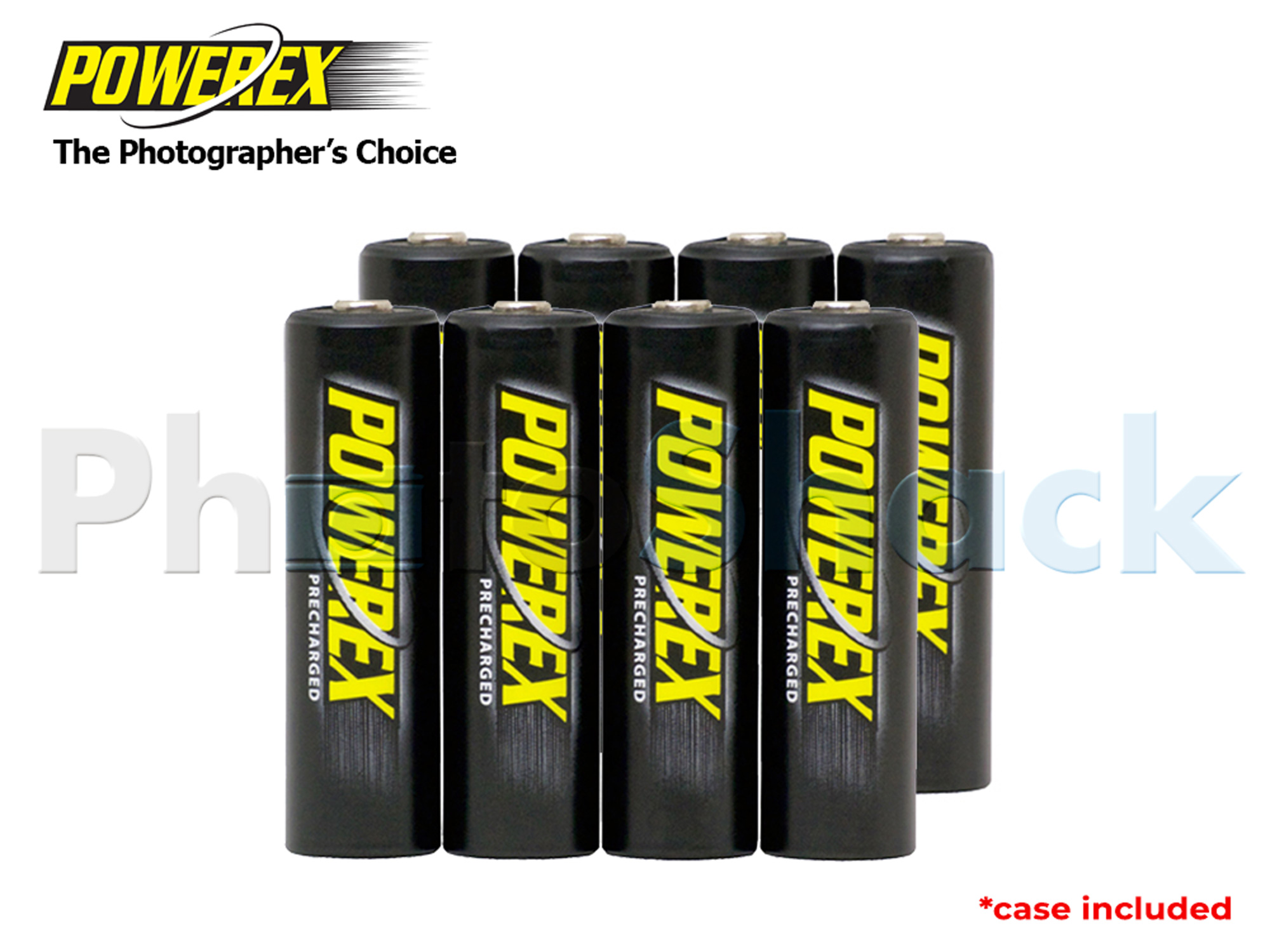 Maha Precharged AA Batteries - 2600mAh 8pack