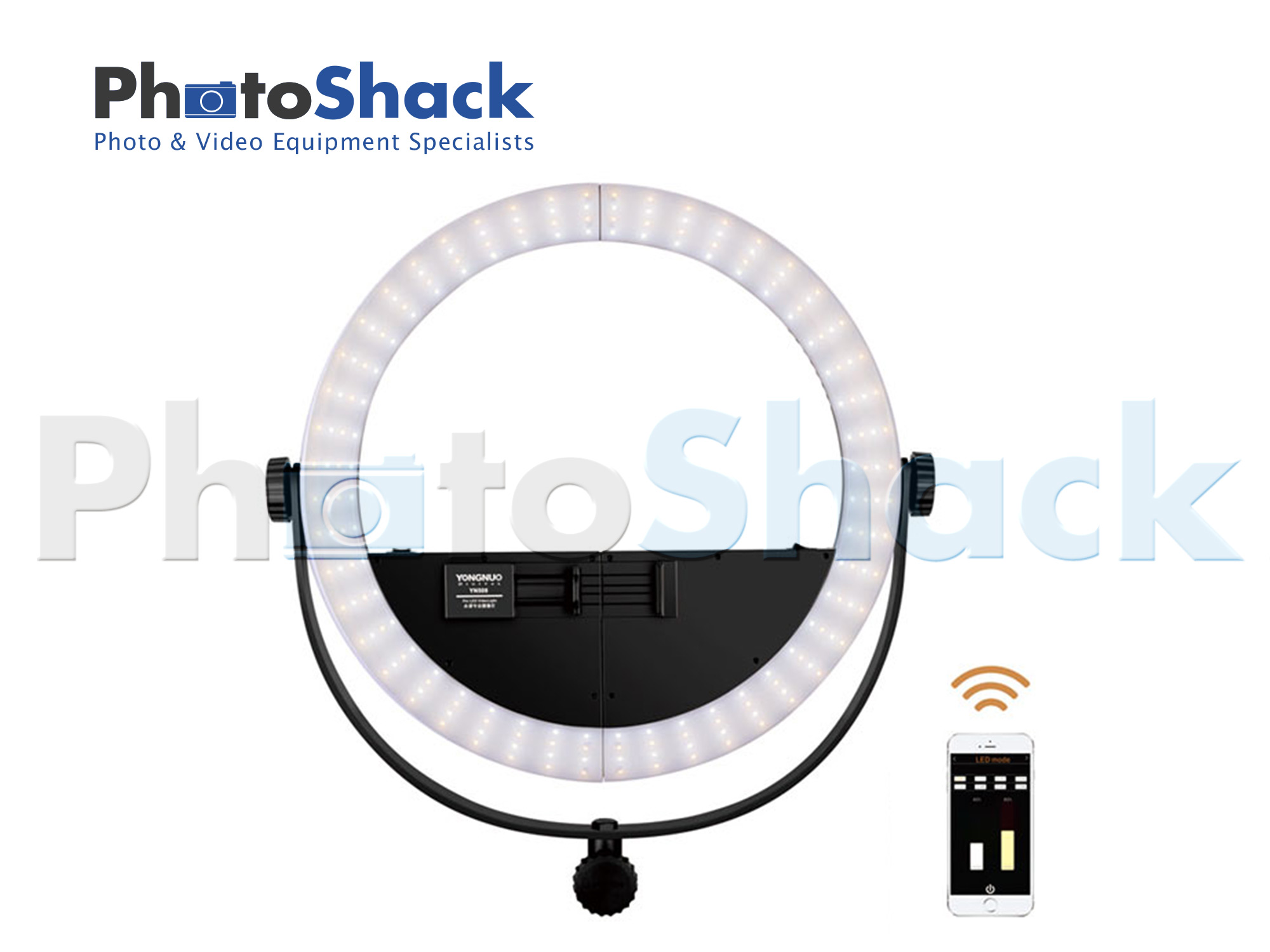 YN508S 2-in-1 Splitable LED ring light 3200-5500K