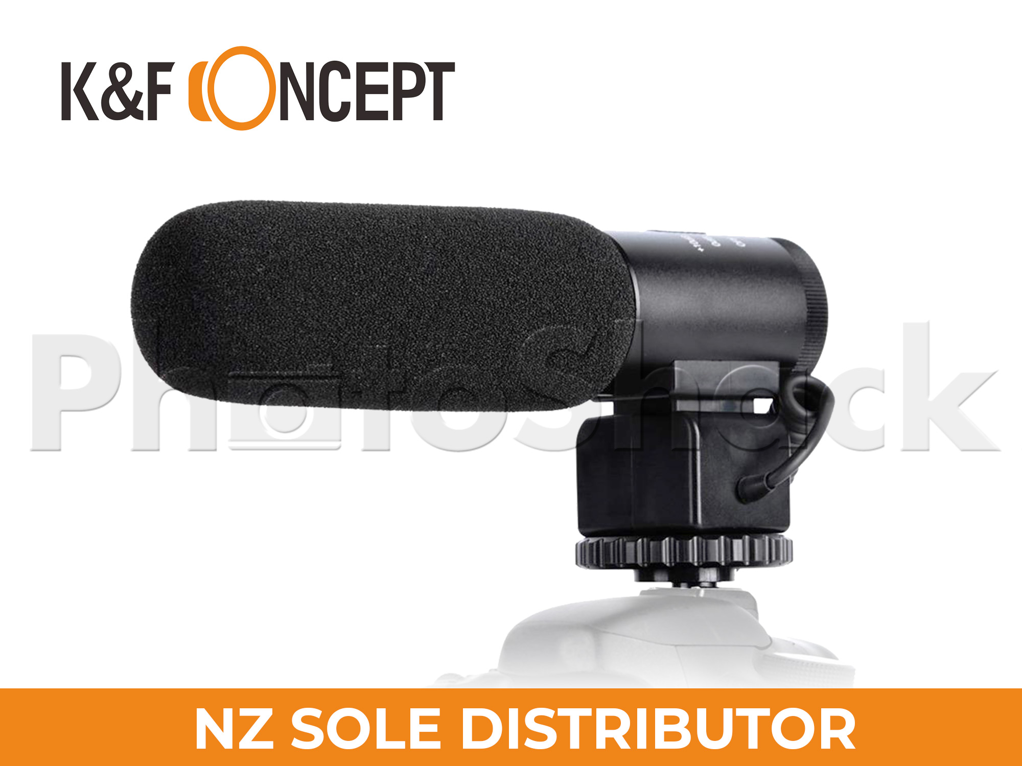 K&F Concept CM-500 Shotgun Microphone for DSLR Camera