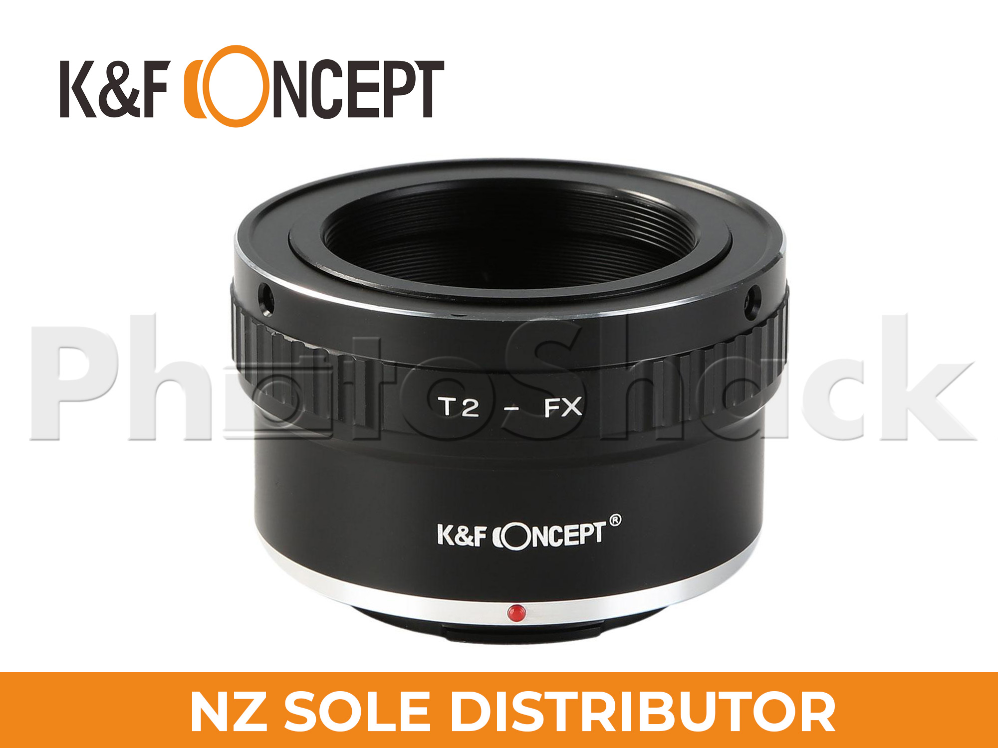 K&F Concept T2 Telescope Mount Lenses to Fuji X Mount Camera Adapter Converter