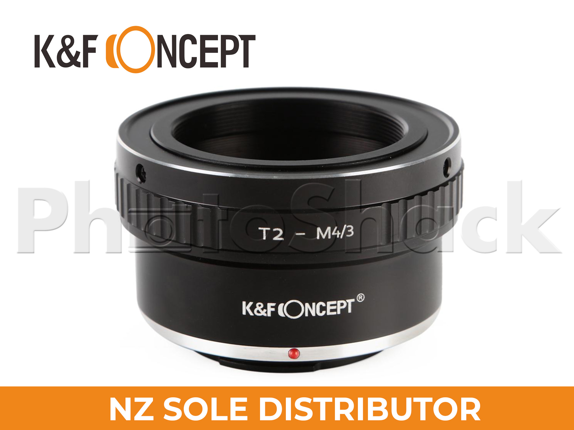 K&F Concept T2 Telescope Mount Lenses to Panasonic M43 Mount Camera Adapter Converter