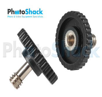 "1/4""20 - Male / Female Screw"