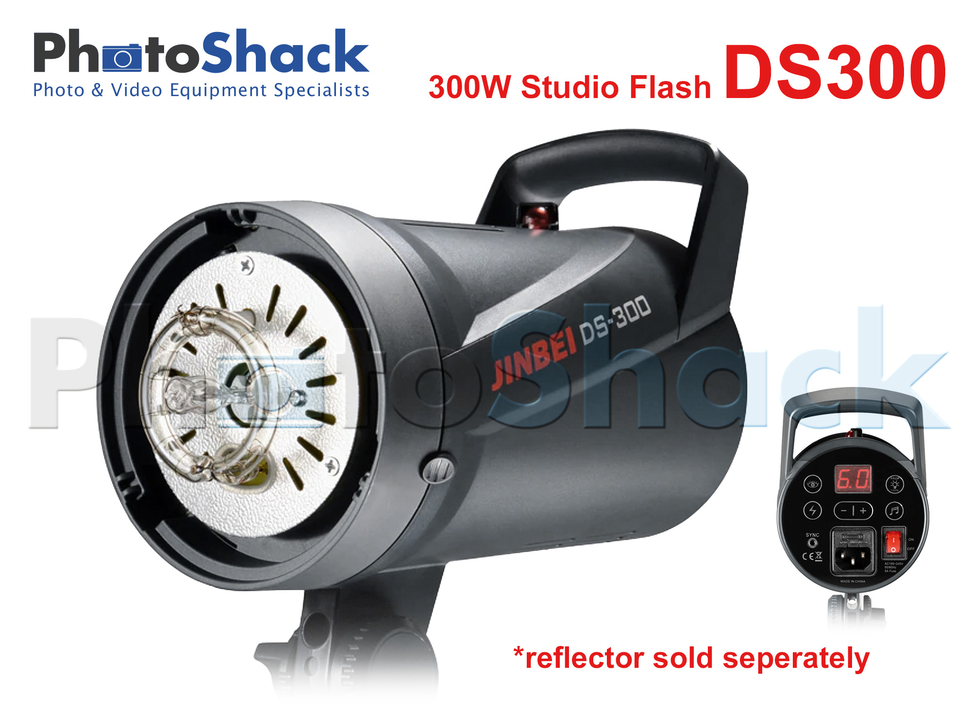 Studio Flash - 300W - Jinbei DS300