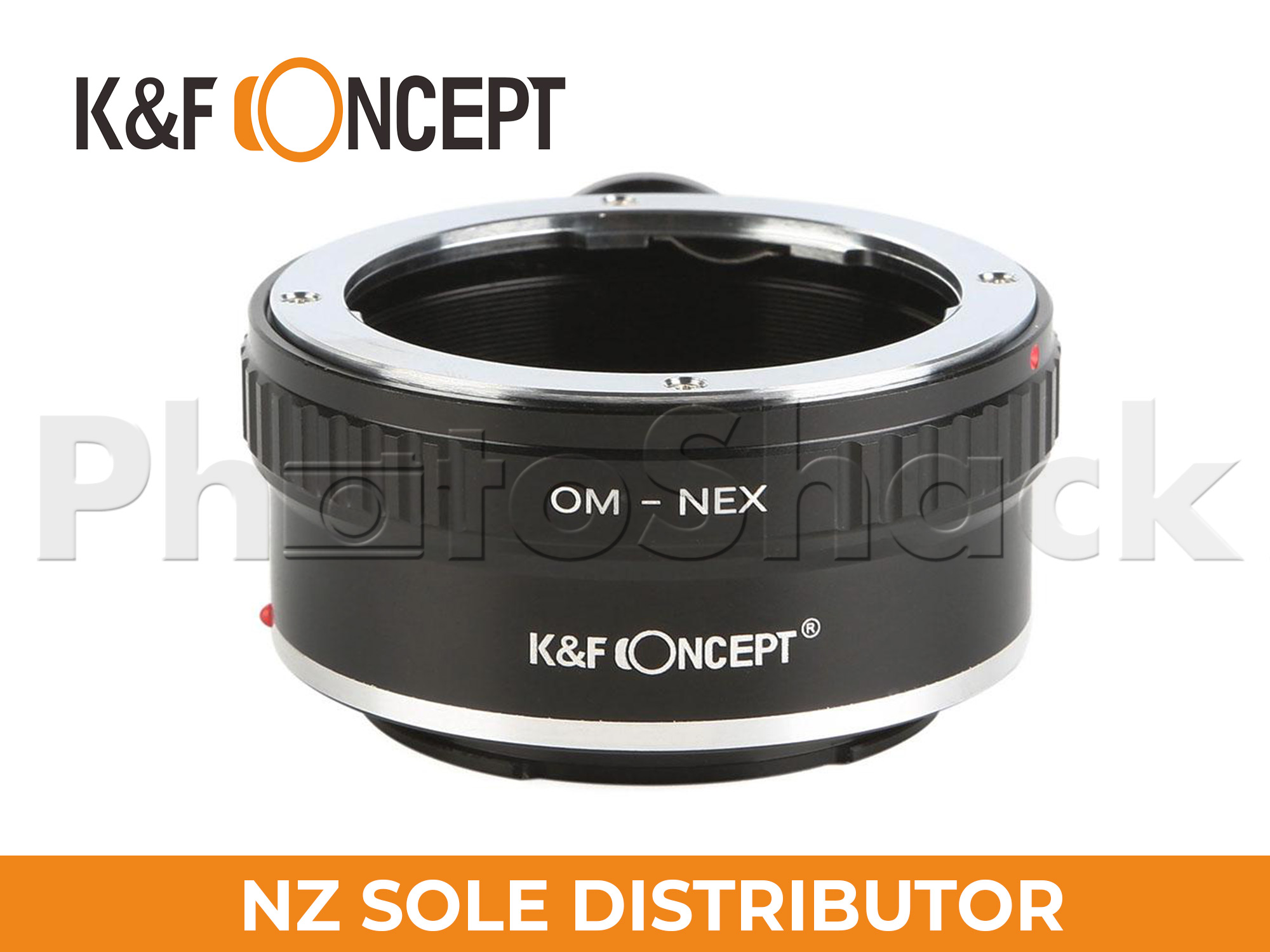 K&F Concept Olympus OM Lenses to Sony E Mount Camera Adapter w/ Tripod Mount