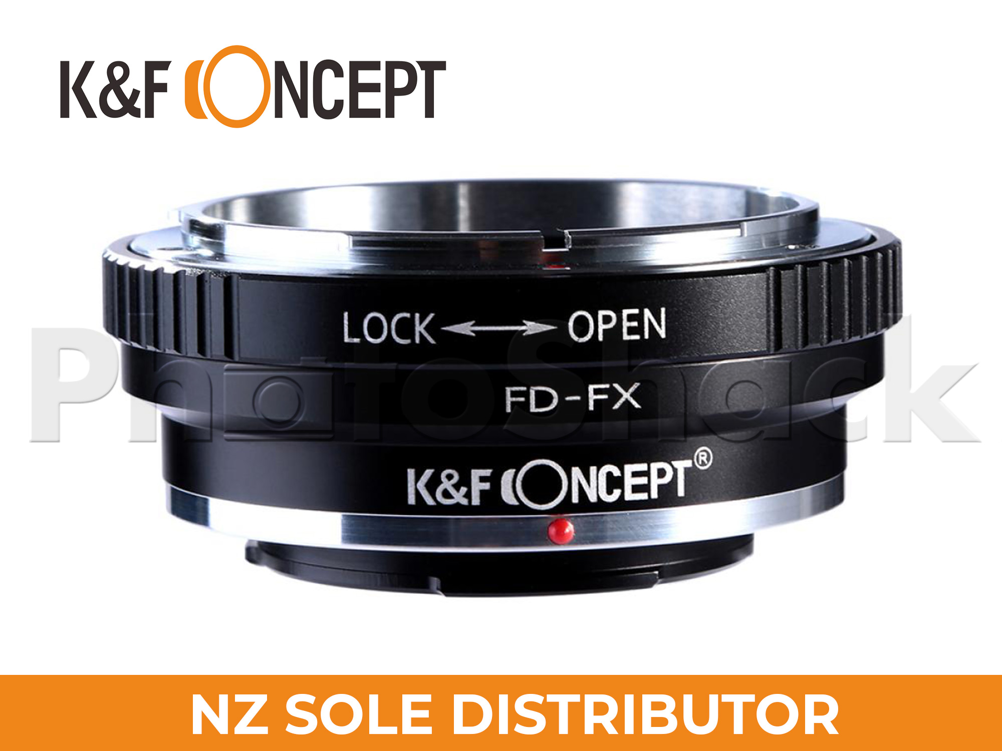 K&F Concepts Canon FD Lenses to Fuji X Mount Camera Adapter