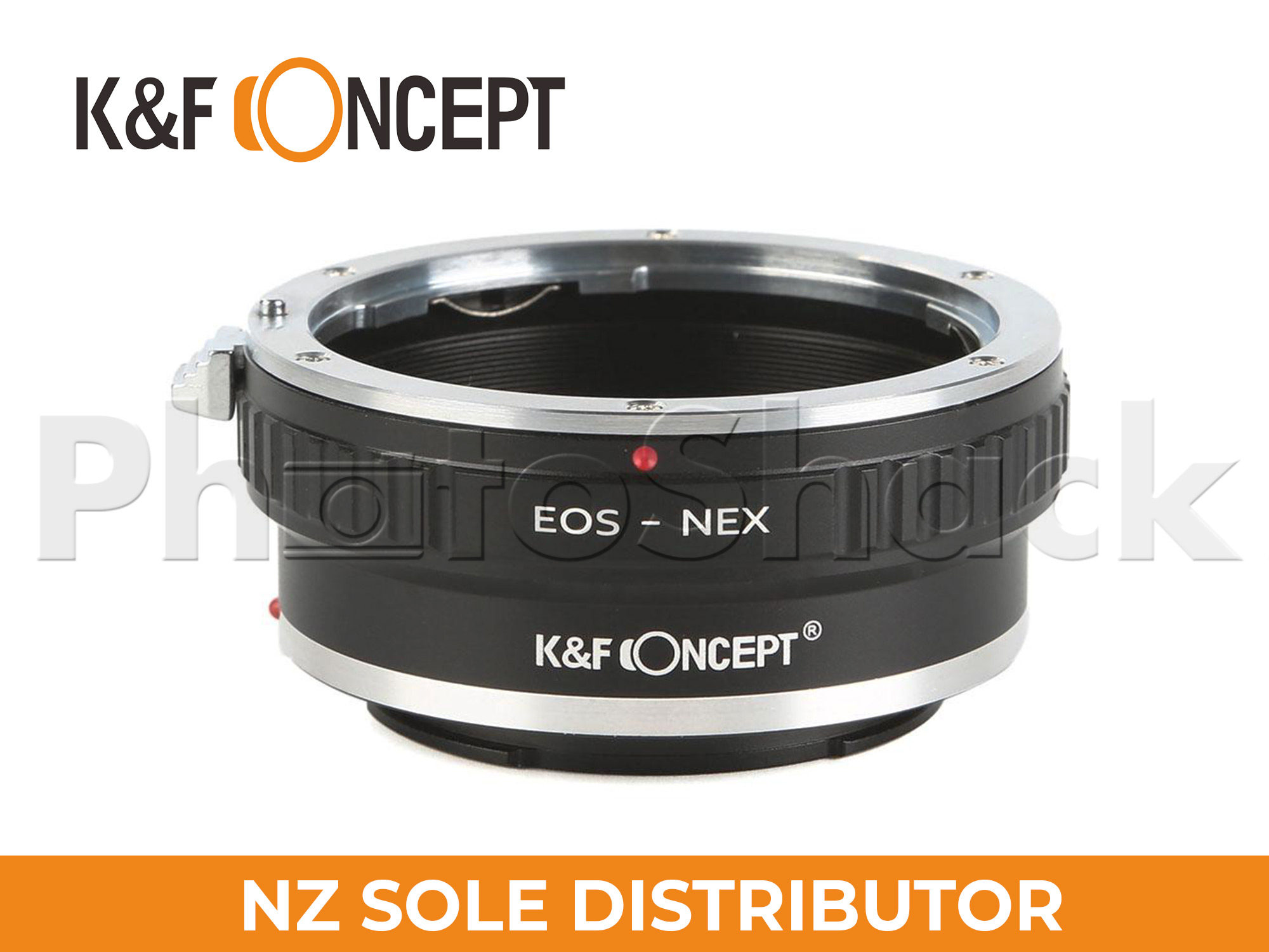 K&F Concept Canon EOS EF Lenses to Sony E Mount Camera Adapter with Tripod Mount