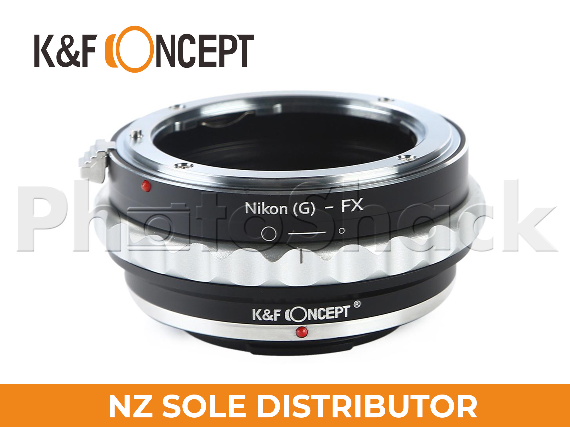 K&F Concept Nikon G/F/AI/AIS/D Lenses to Fuji X Mount Camera Adapter