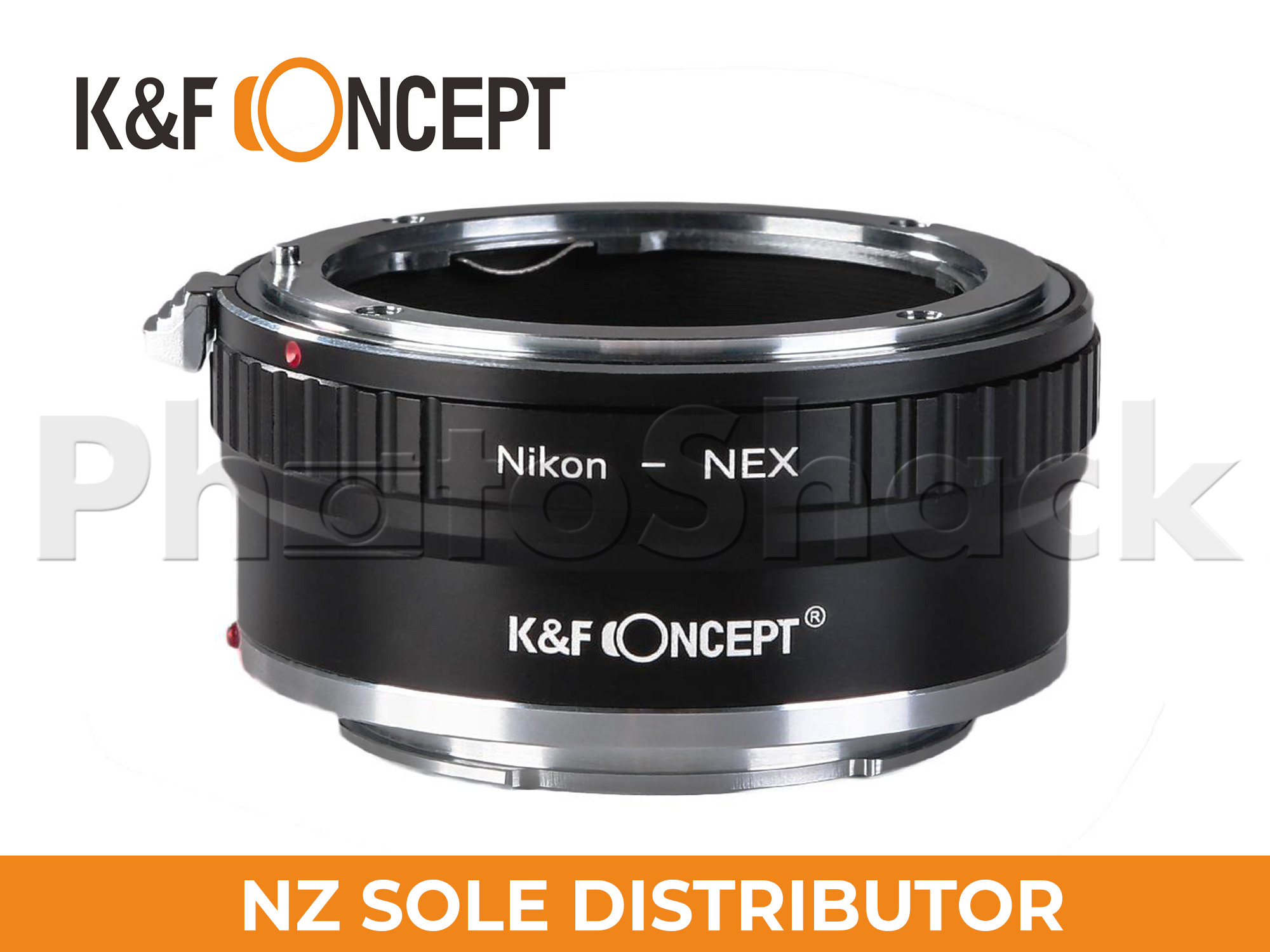 K&F Concept Nikon AI Lenses to Sony E Mount Camera Copper Adapter