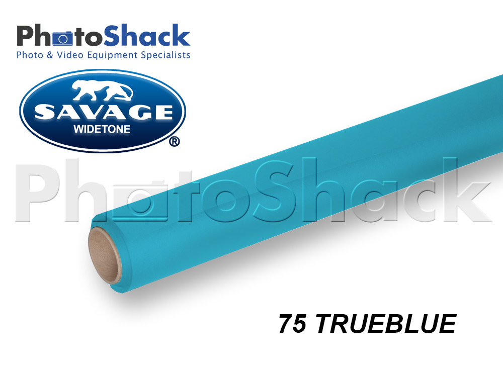 SAVAGE Paper Backdrop Full Roll - 75 True Blue