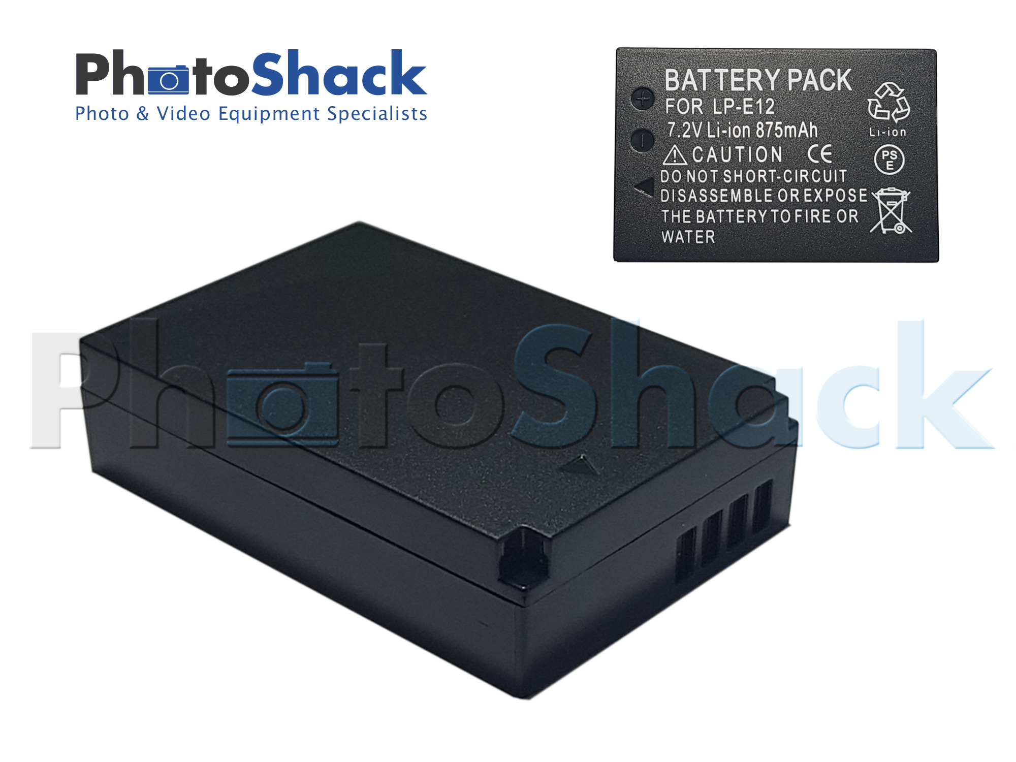 JNT Canon LPE12 Camera Battery