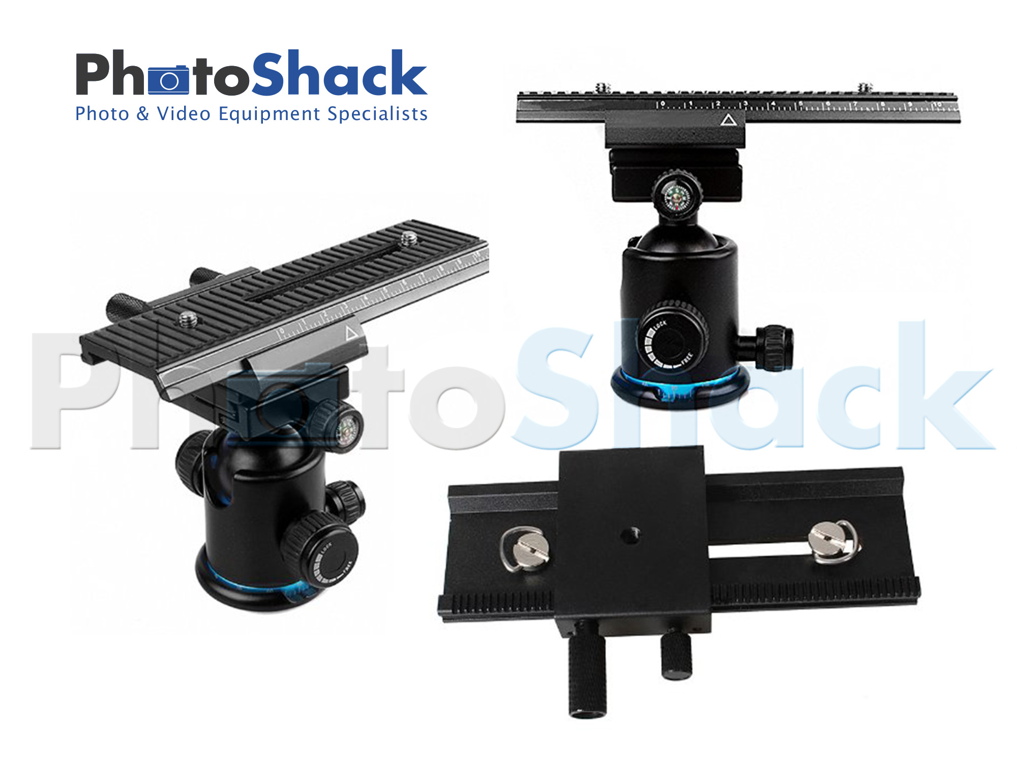 Commlite 2-way Macro Shot Focusing Rail Slider