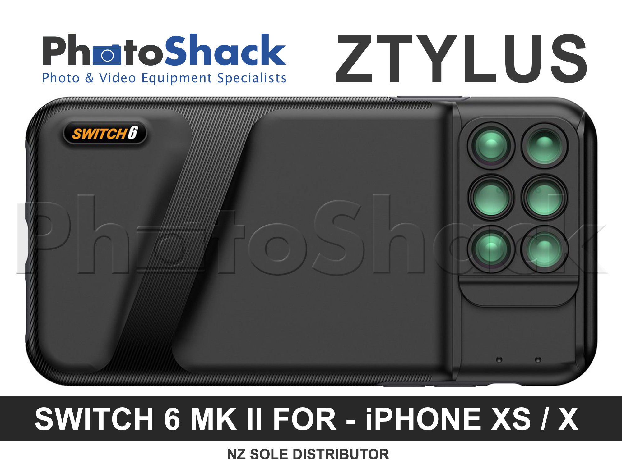 Ztylus Switch 6 MK II for IPhone XS / X