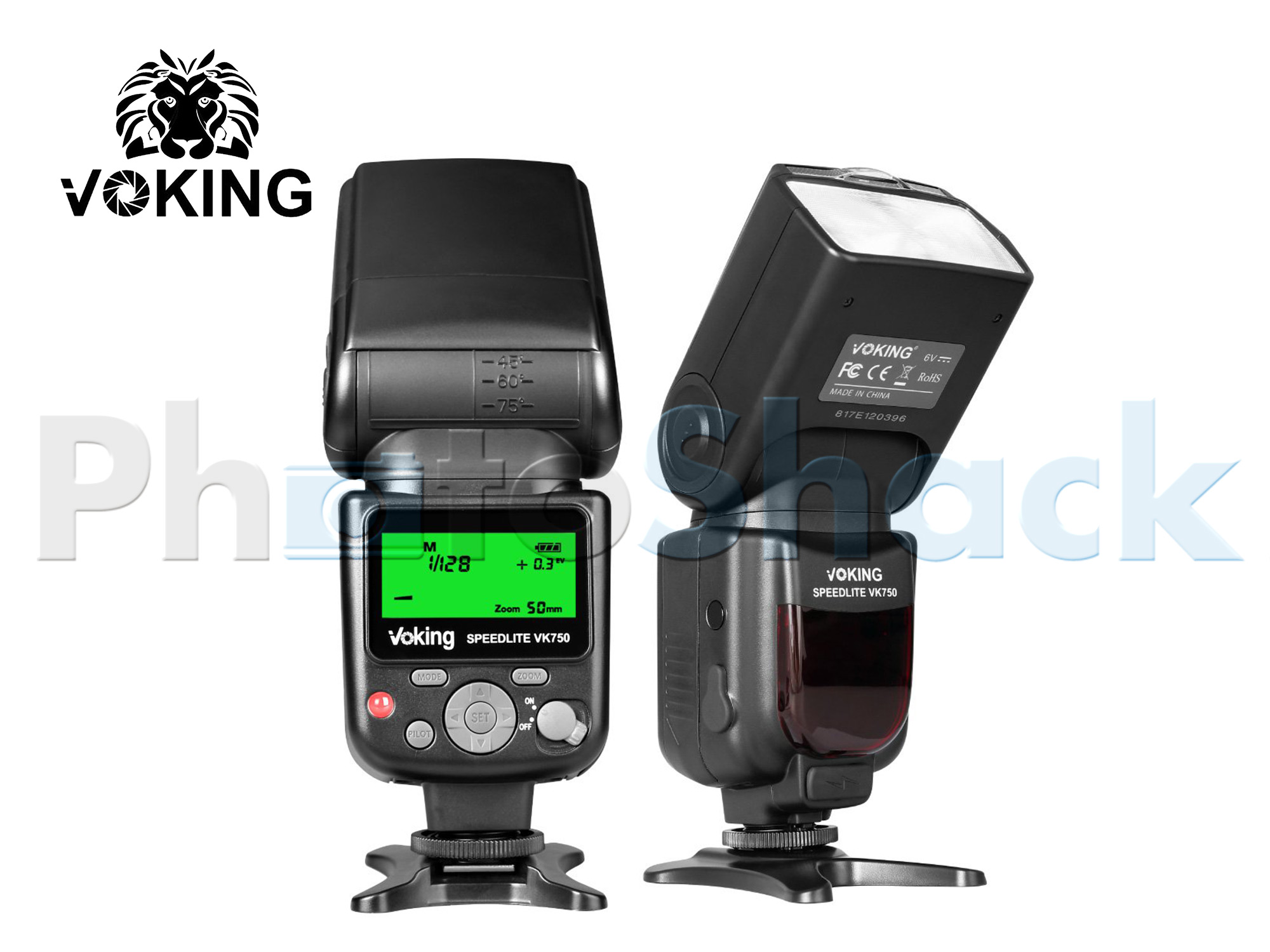 VOKING VK750 Flash - GN58 Manual Flash Speedlite