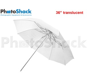 3 Fold Umbrella Translucent 36