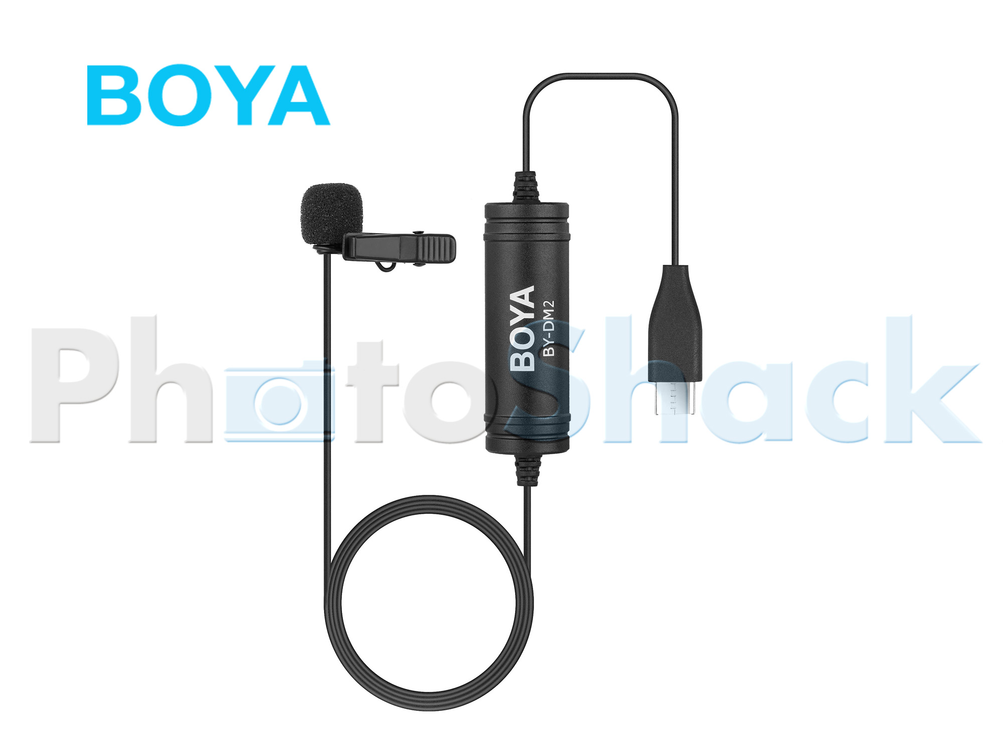 BOYA BY-DM2 Digital Lavalier Microphone for Android Devices