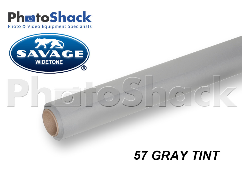 SAVAGE Paper Background Roll - 57 Gray Tint