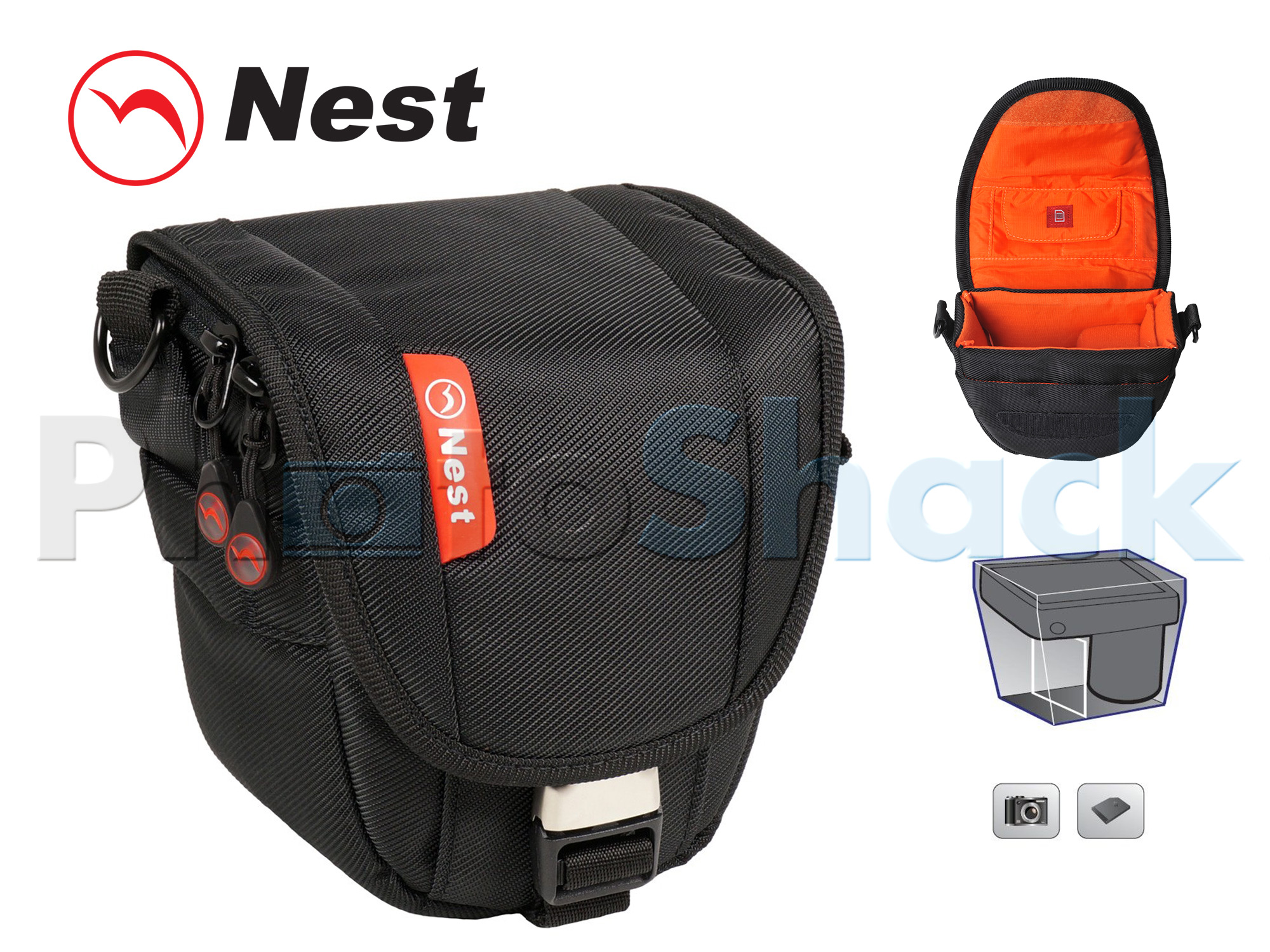 Nest Athena S15 Camera Bag - Black