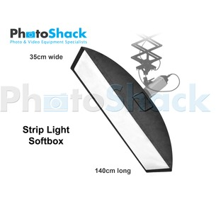 Strip Light Softbox 35x140cm - Elinchrom Adapter