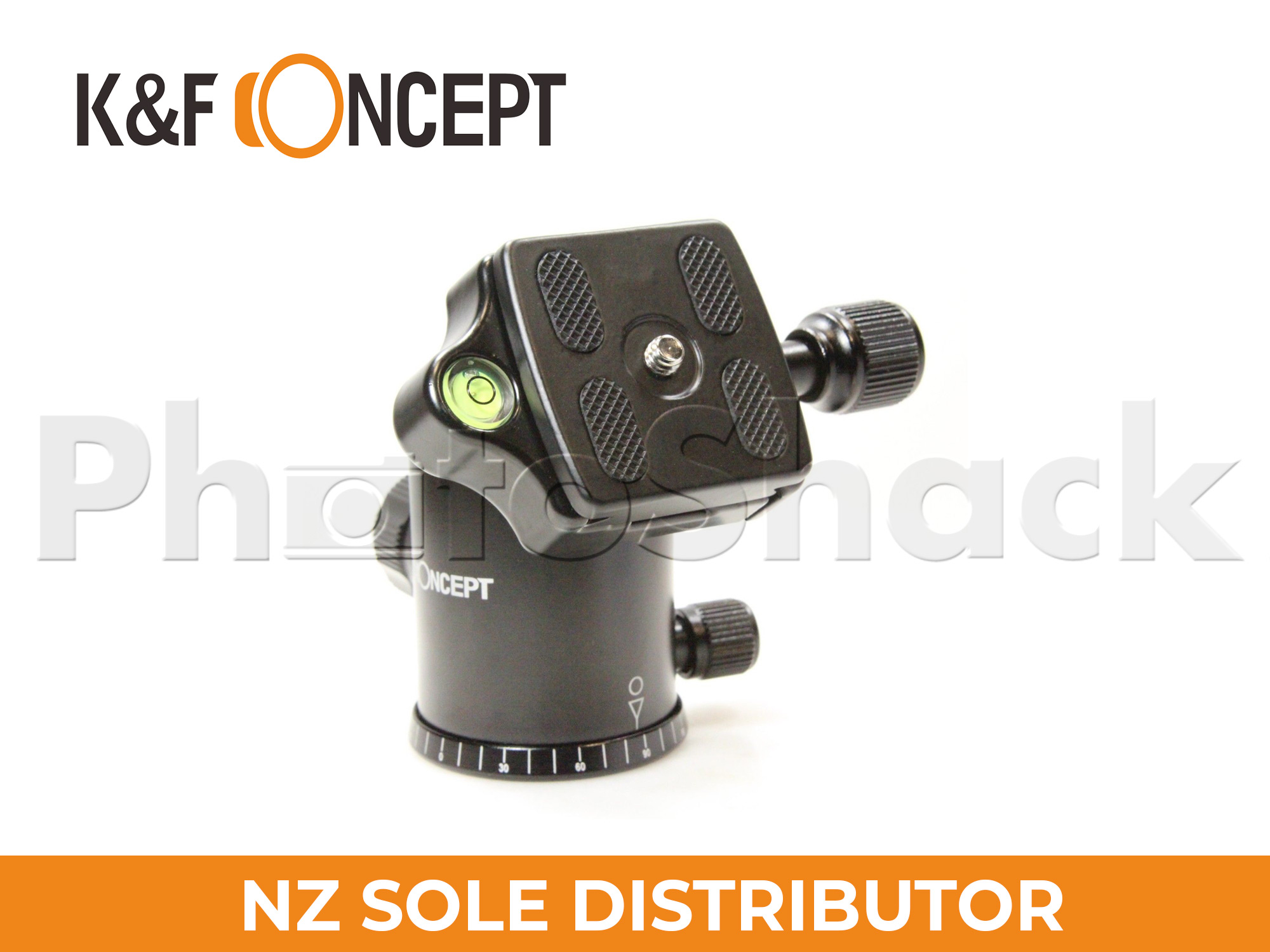 K&F Concept 10kg Load Metal Ball Head (KF31.013)