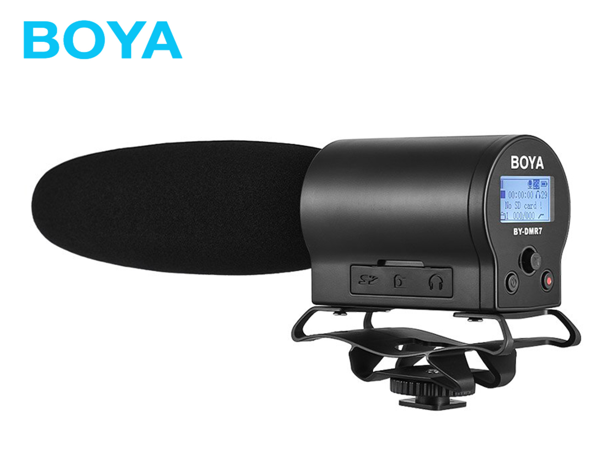 BOYA BY-DMR7  Broadcast Quality Condenser Microphone