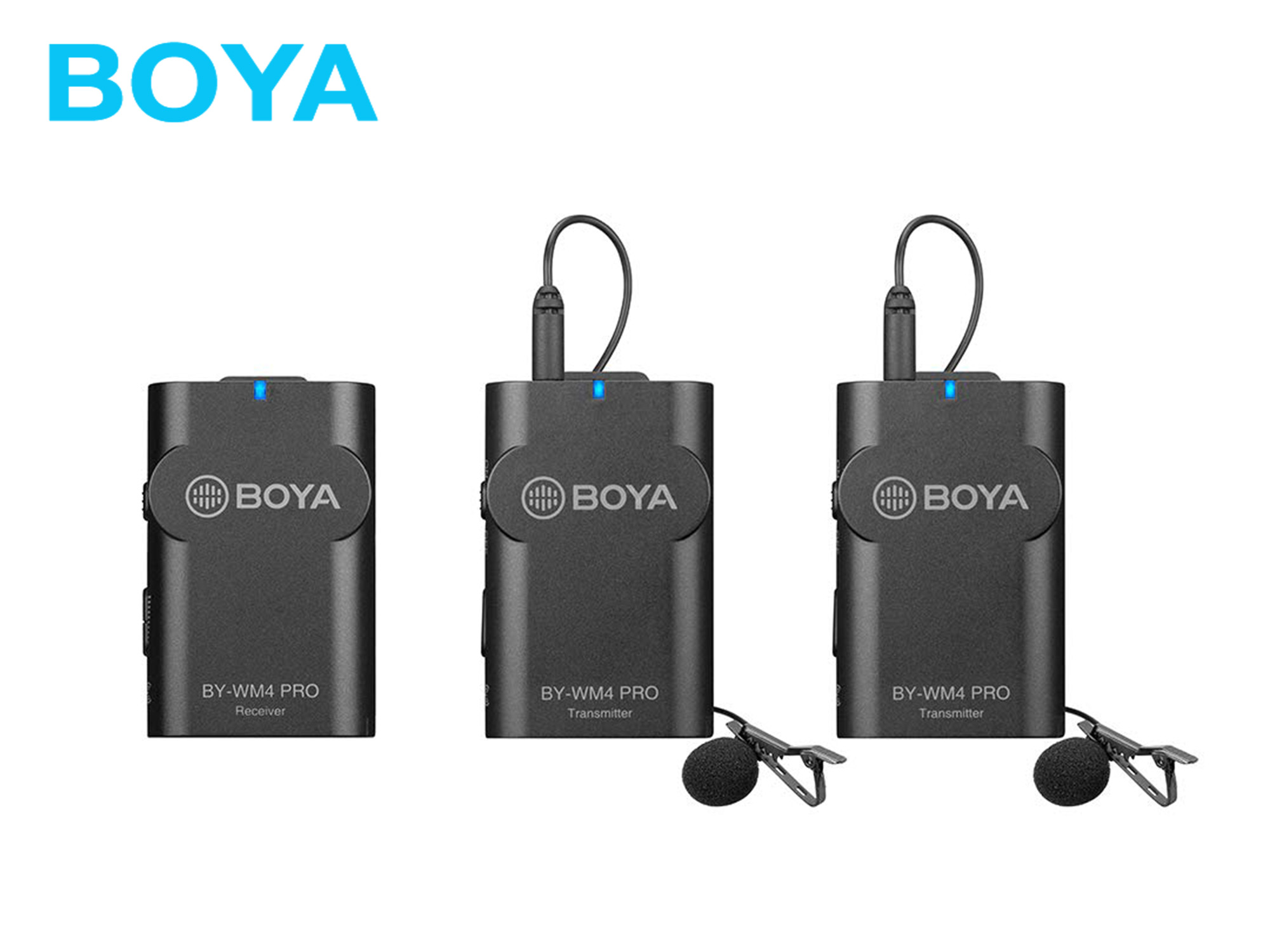 BOYA BY-WM4 Pro K2 Portable 2.4G Wireless Microphone