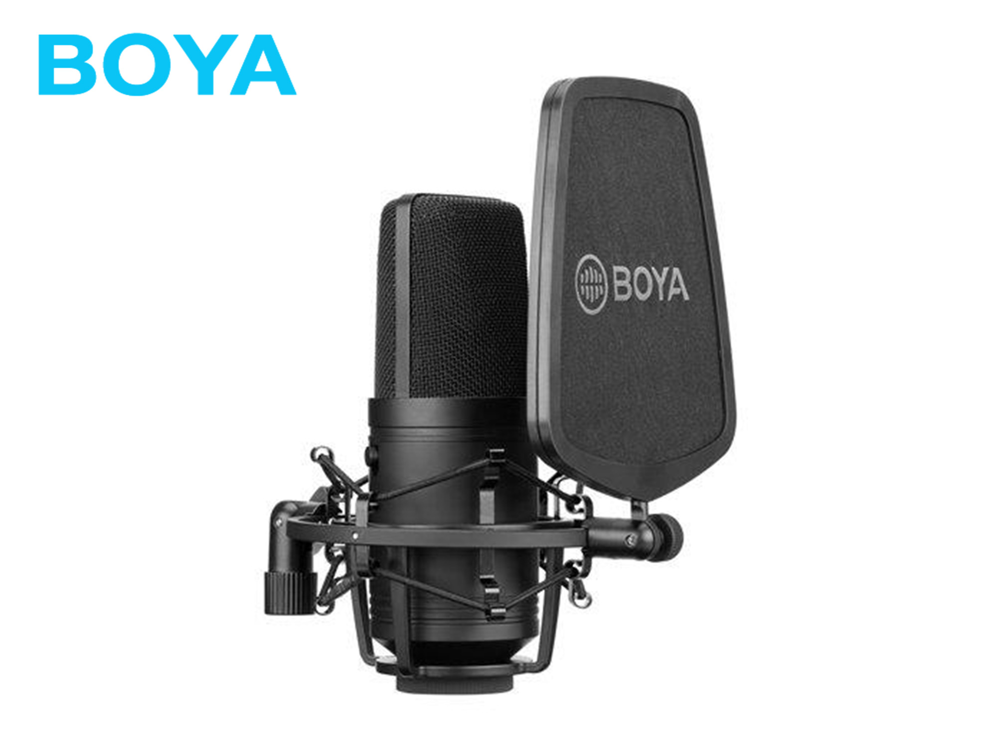 BOYA BY-M800 Large-Diaphragm Cardioid Condenser Microphone