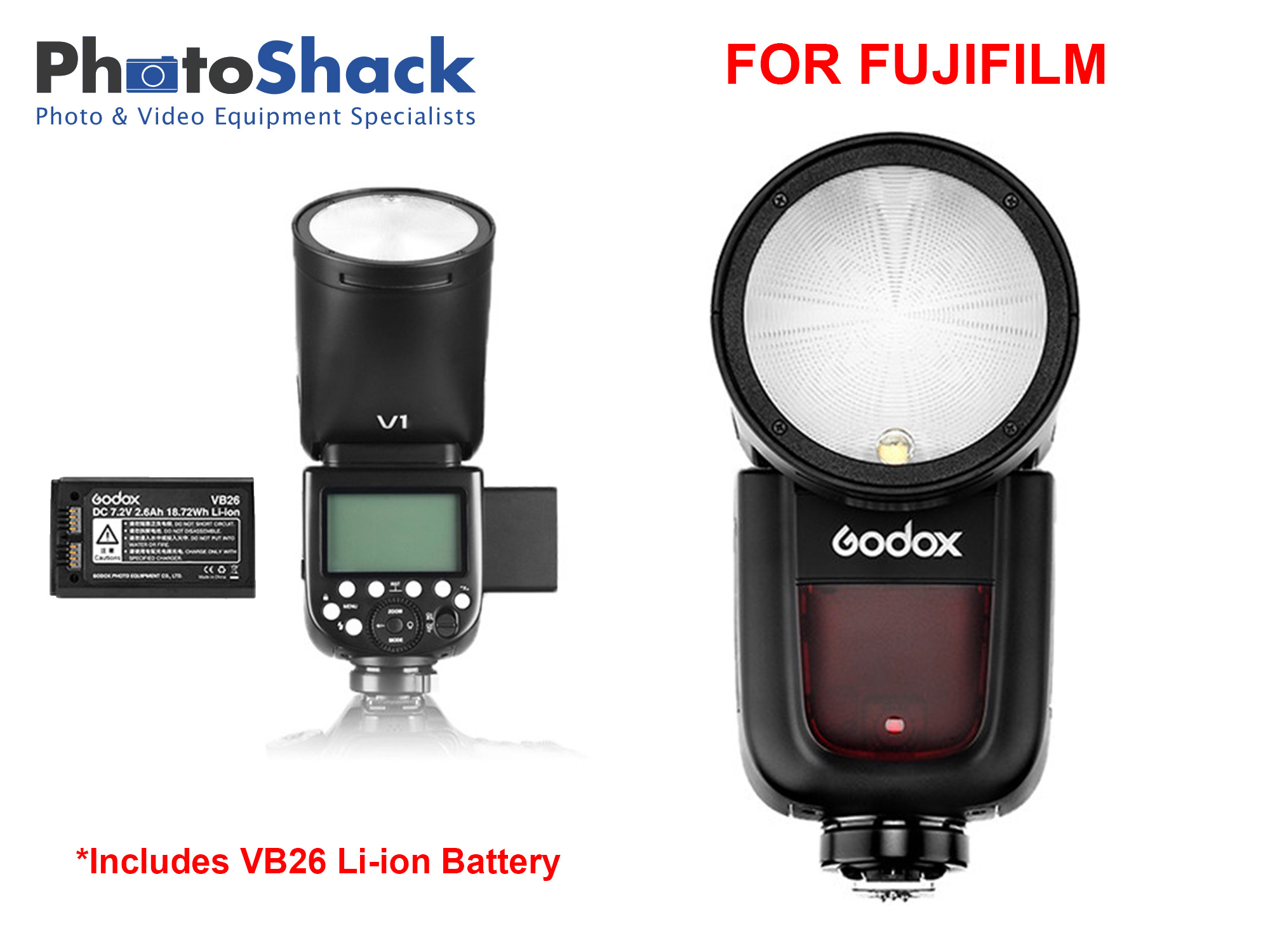 Godox V1 Flash for Fujifilm