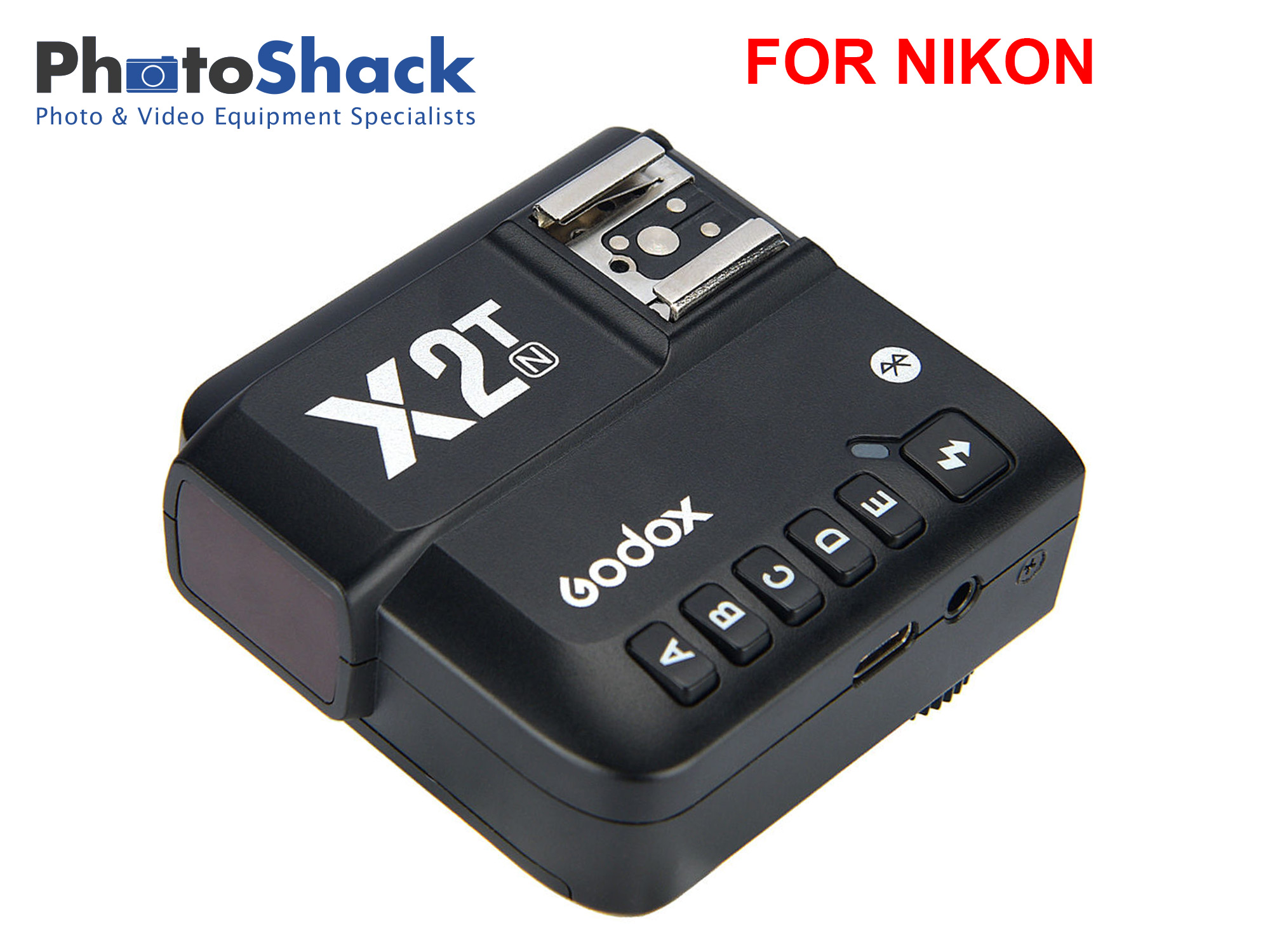 Godox X2T 2.4 GHz TTL Wireless Flash Trigger for Nikon