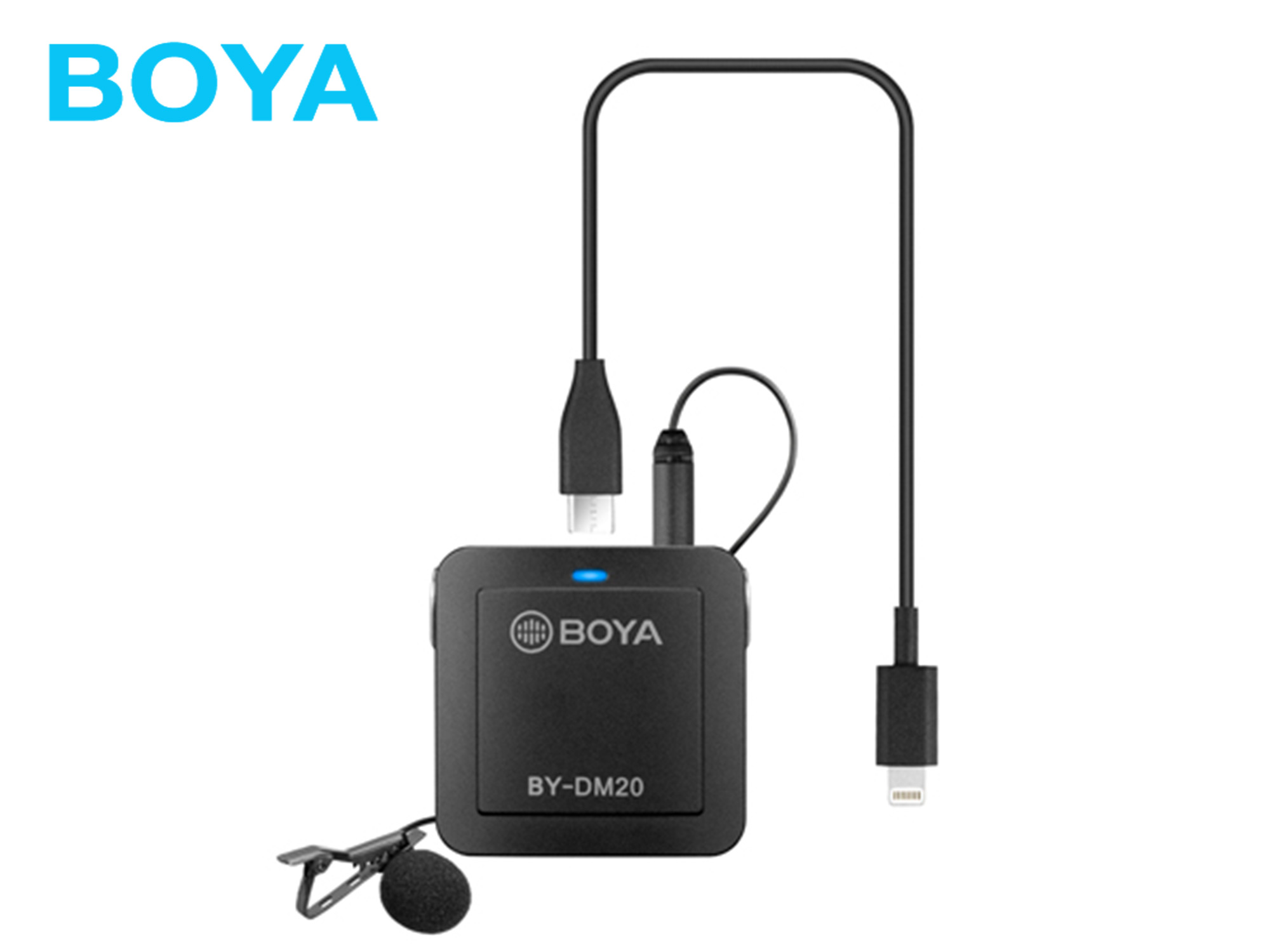 Boya BY-DM20 Dual-Channel Recording Kit