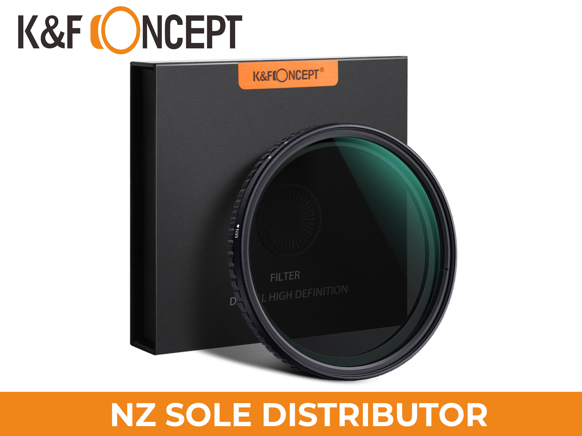 K&F Concept ND8-ND128 Variable Neutral Density ND Filter Nano Coated