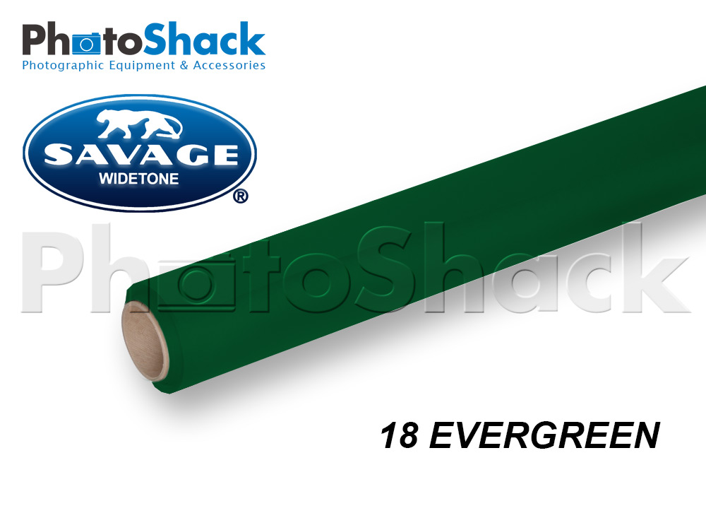 SAVAGE Paper Background Roll - 18 Ever Green