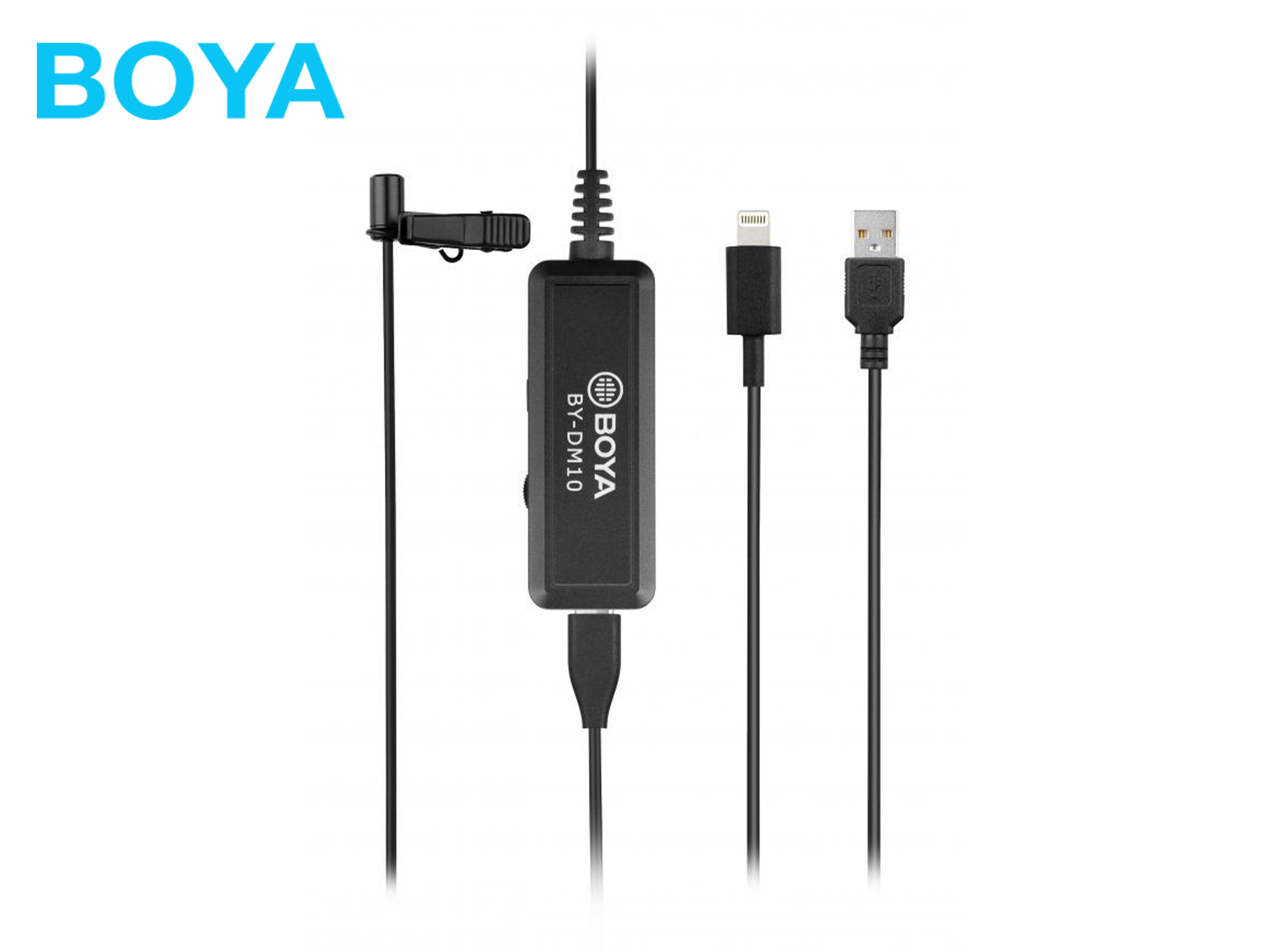 Boya BY-DM10 Digital Lavalier Microphone For IOS/Mac/Windows