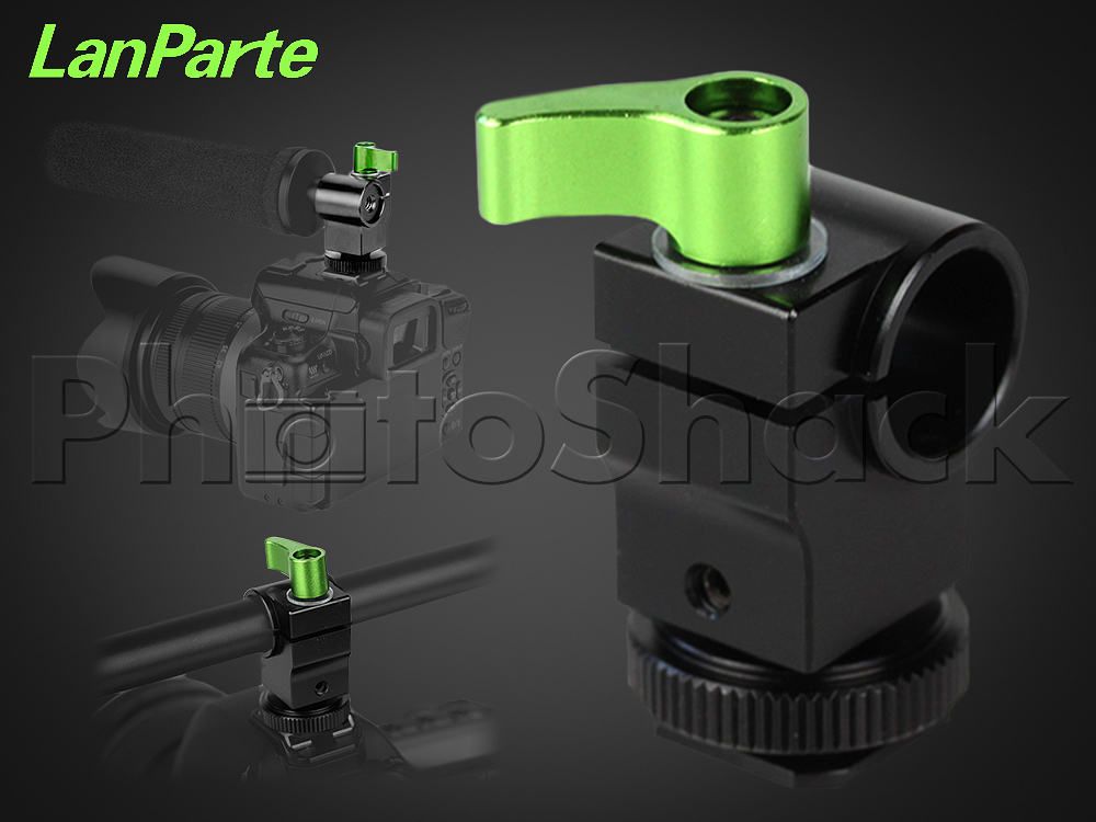 Hot Shoe Mount with Rod Clamp - Lanparte