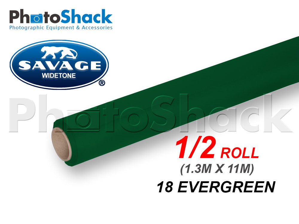 SAVAGE Paper Background Half Roll - 18 Evergreen