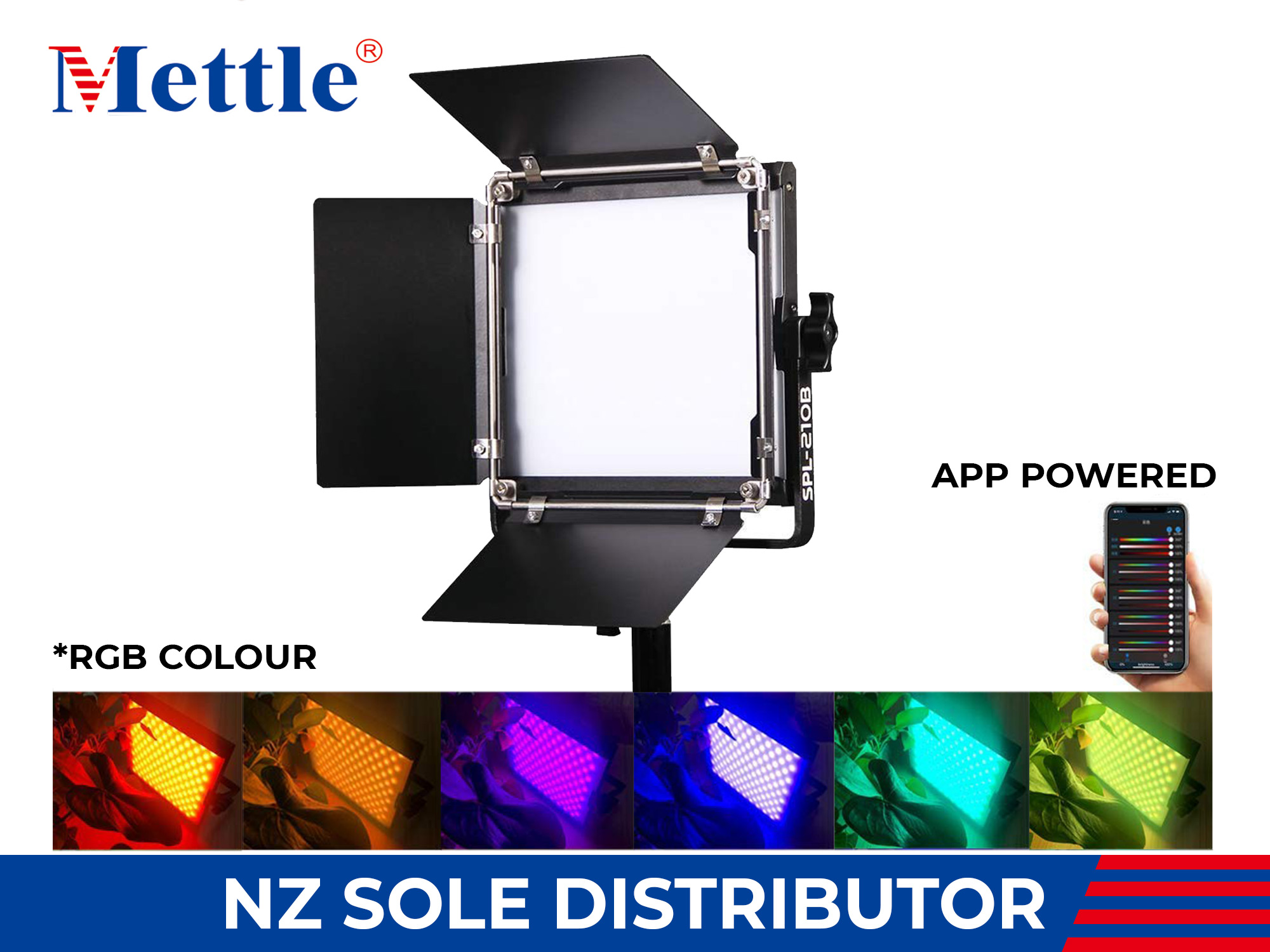 Mettle SPL210C LED RGB Smart Panel