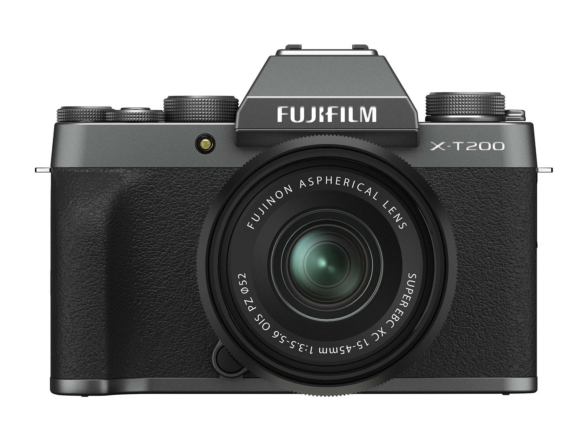 FUJIFILM X-T200 Mirrorless Digital Camera with 15-45mm (Dark Silver)